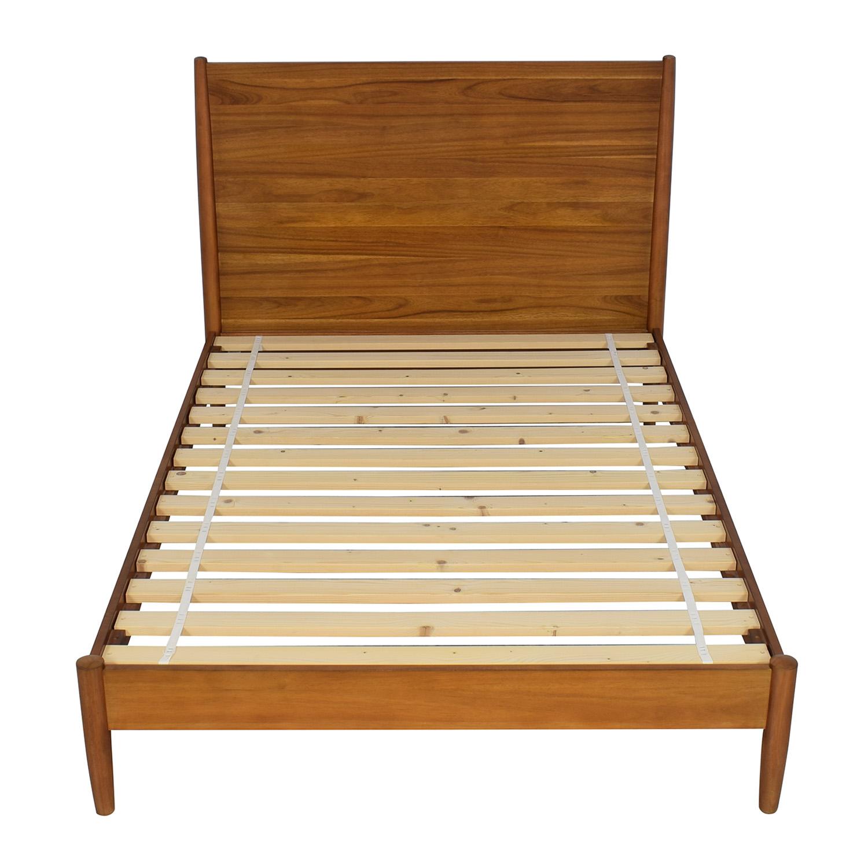 buy West Elm Mid-Century Full Bed Acorn West Elm Beds