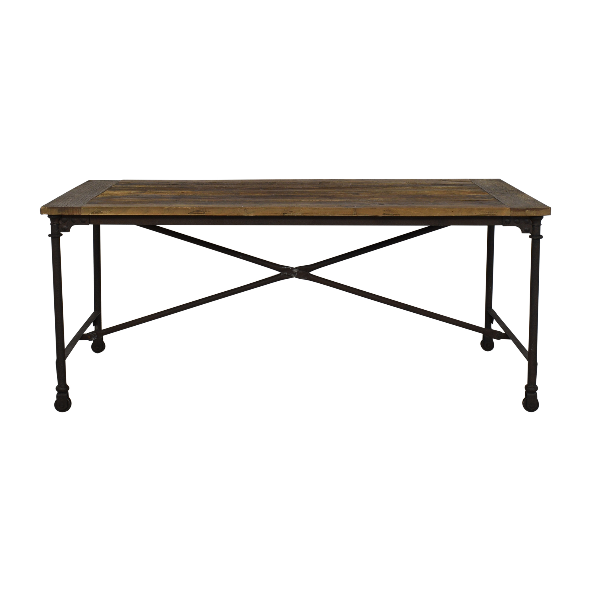 shop Restoration Hardware Flatiron Dining Table Restoration Hardware Tables