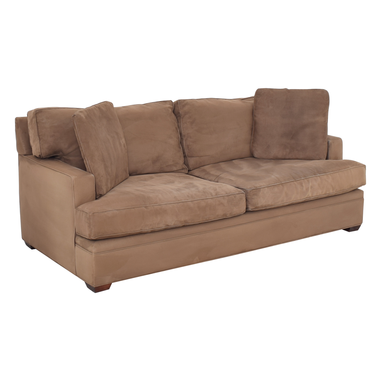 buy Crate & Barrel Fabric Sofa Crate & Barrel Classic Sofas