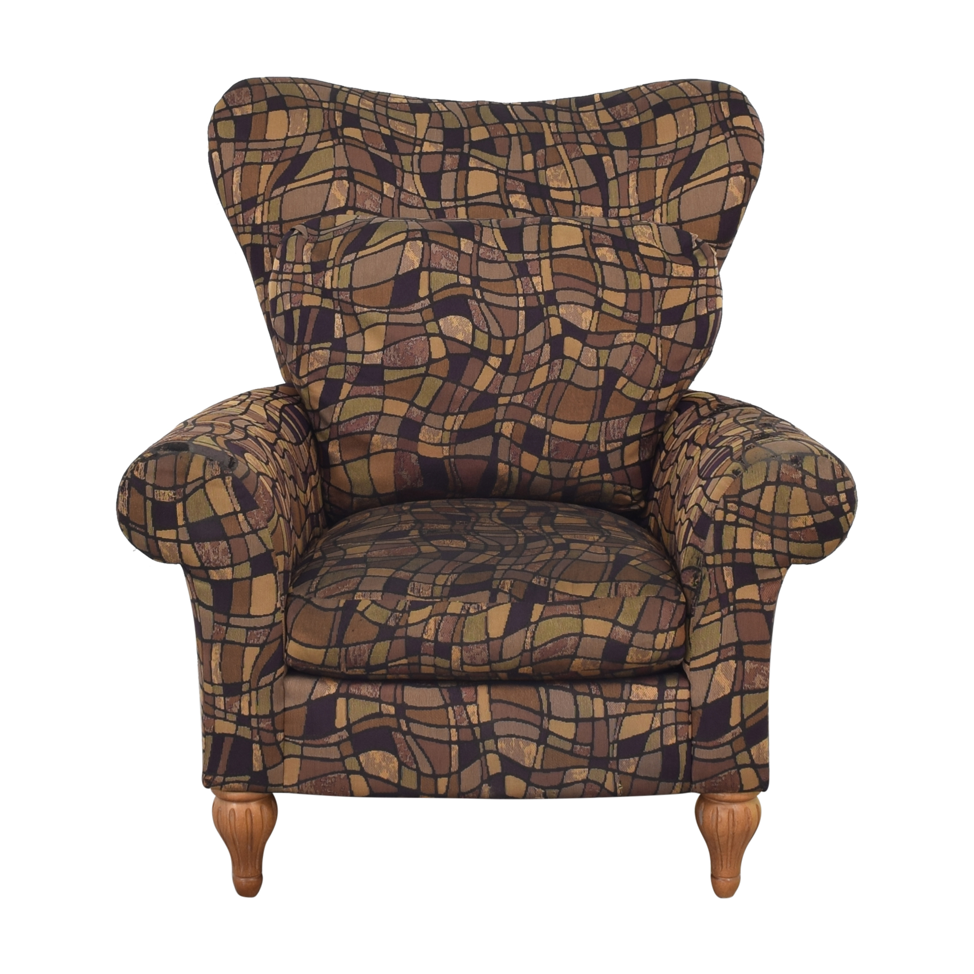 shop Bernhardt Rolled Armchair Bernhardt Chairs