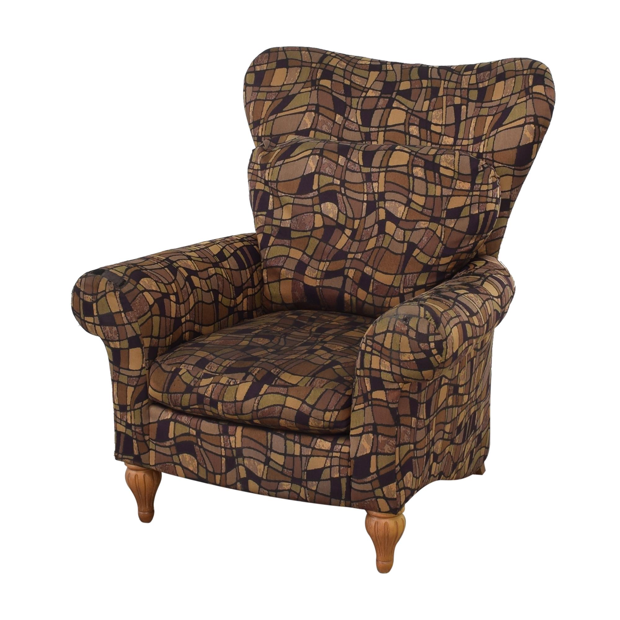 Bernhardt Bernhardt Rolled Armchair Accent Chairs