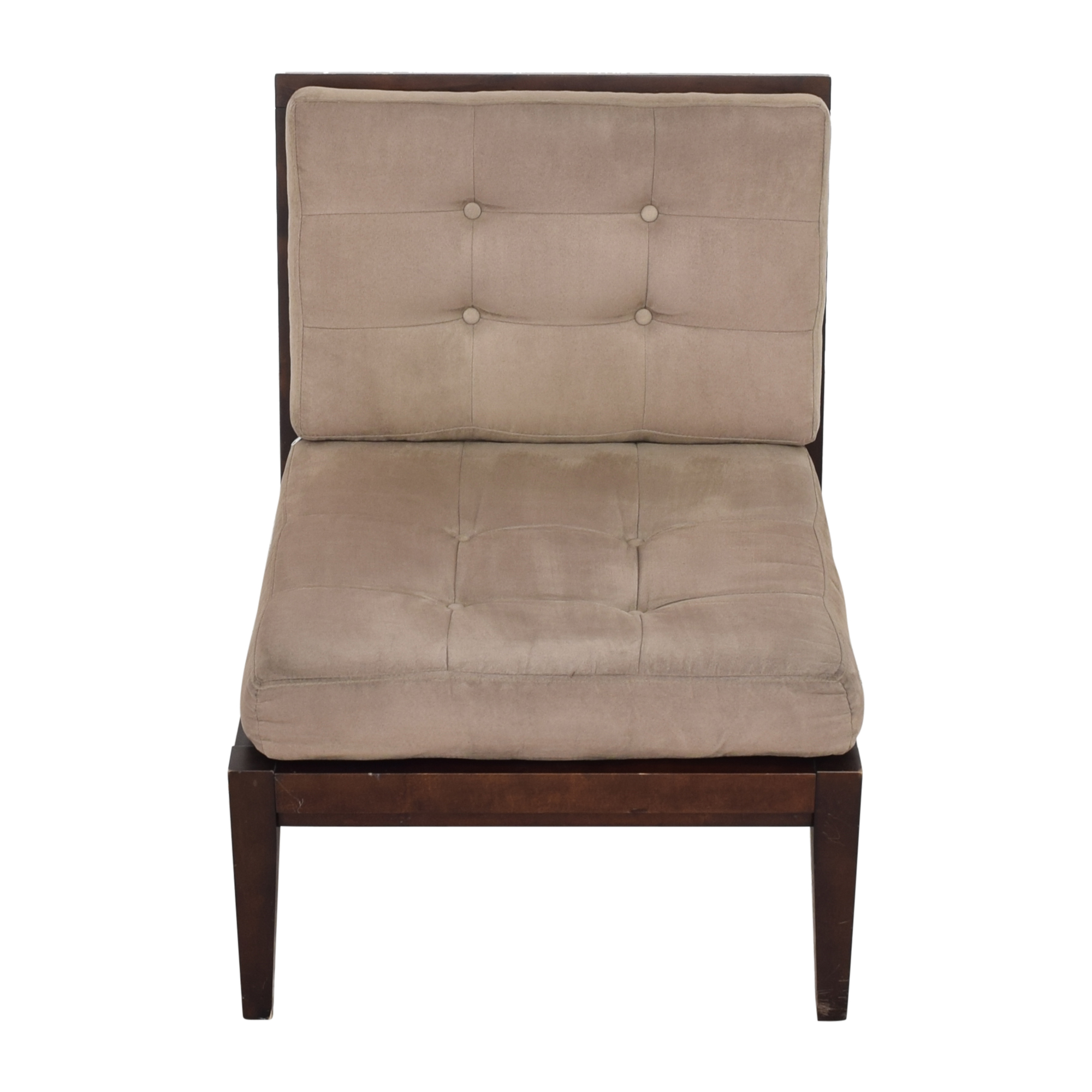Crate & Barrel Armless Lounge Chair sale