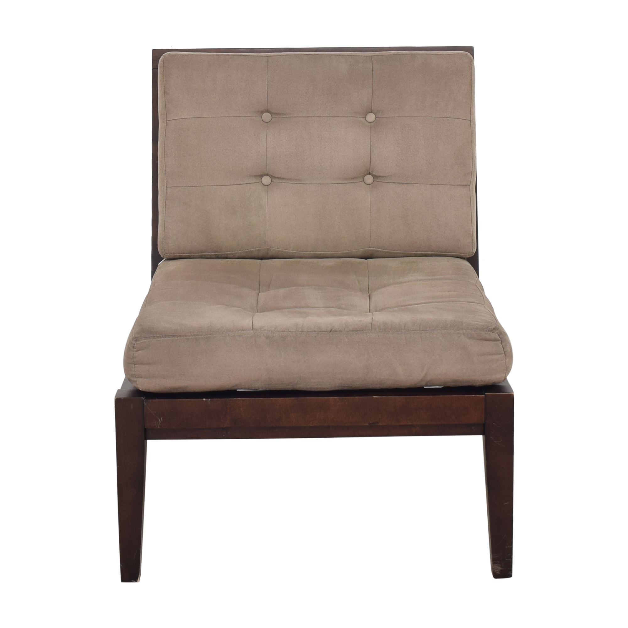 Crate & Barrel Crate & Barrel Armless Lounge Chair discount