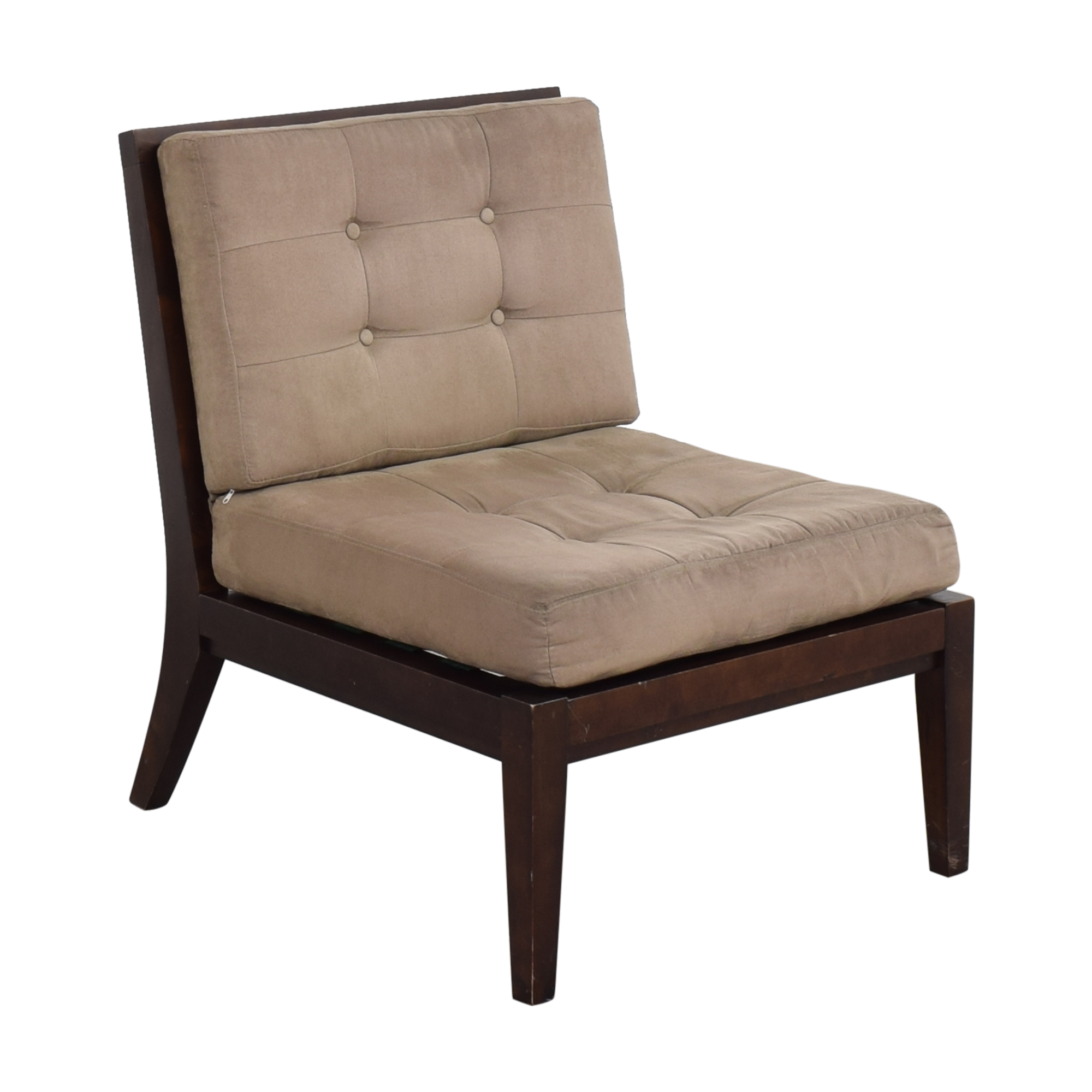 Crate & Barrel Crate & Barrel Armless Lounge Chair ma