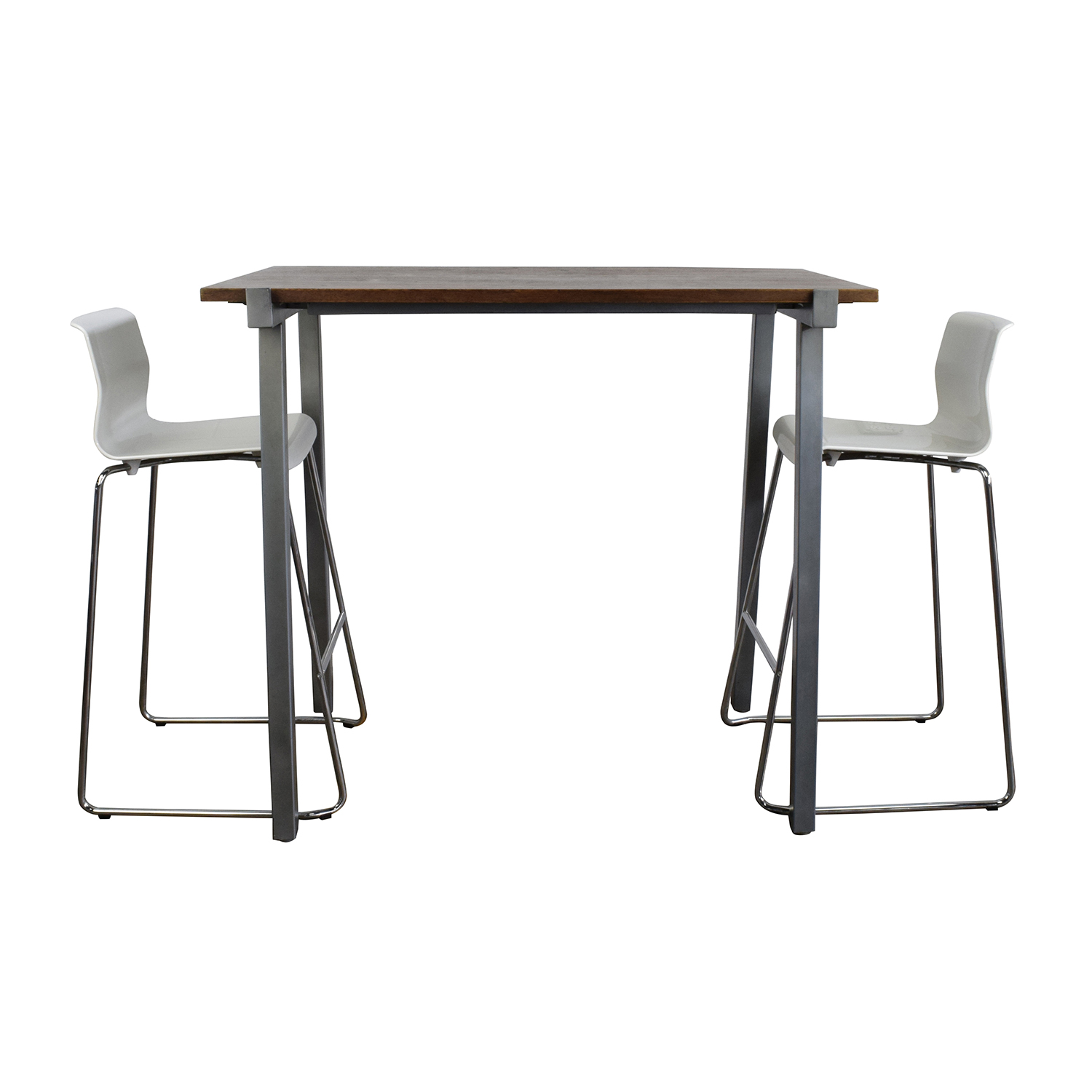 High Dining Table And Chairs: CB2 CB2 High Dining Table And Chairs Set / Tables
