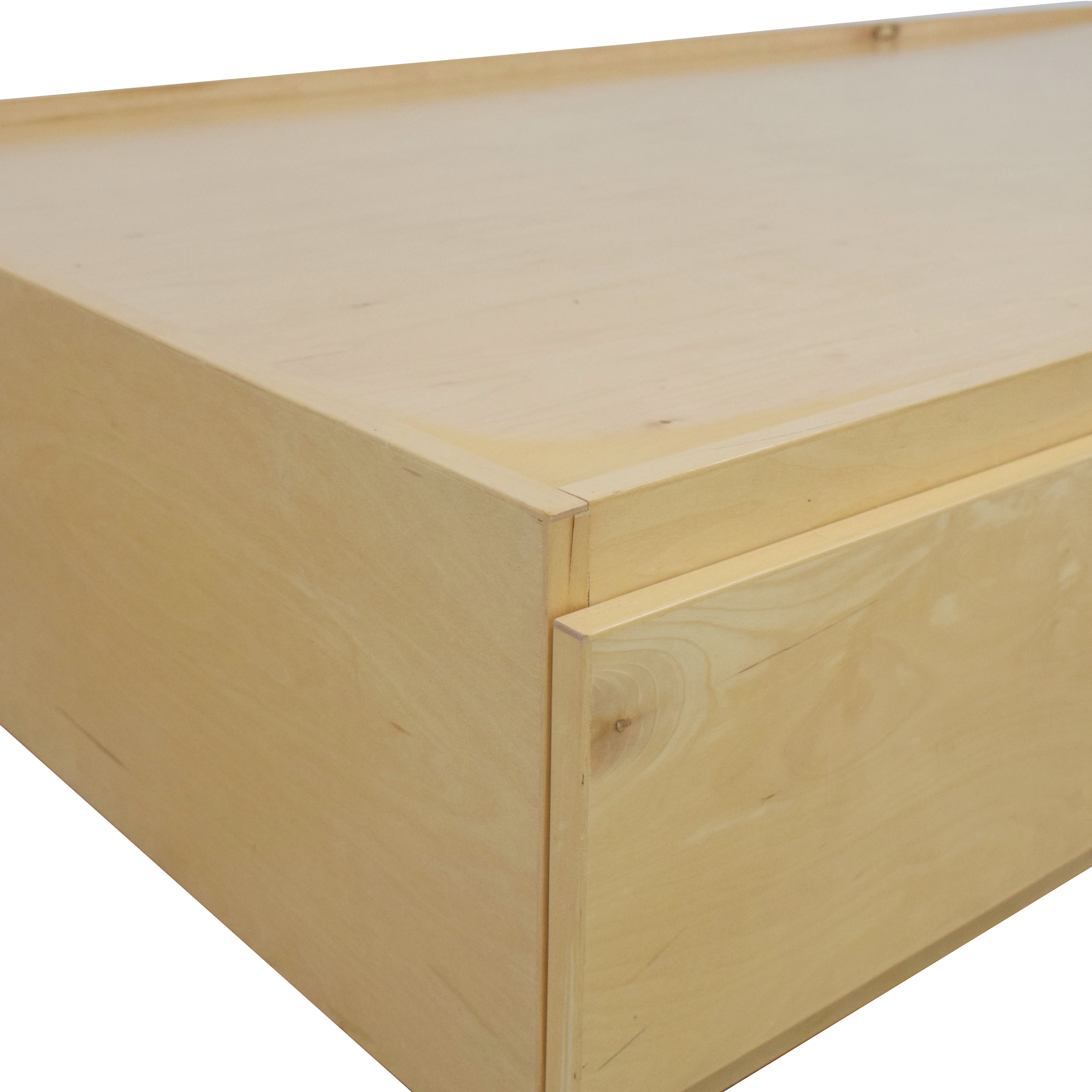 shop Urbangreen Furniture Urbangreen Thompson Twin Storage Bed online