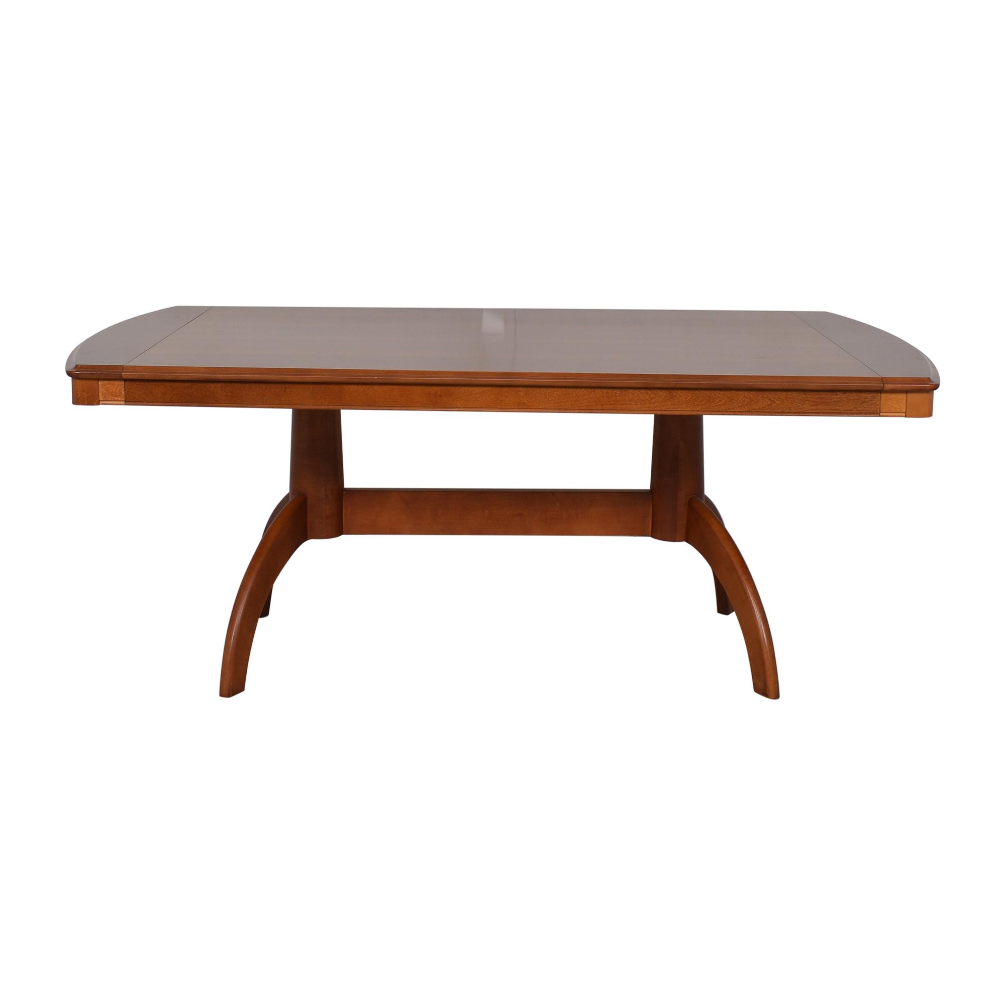 shop Bassett Extendable Dining Table Bassett Furniture Tables