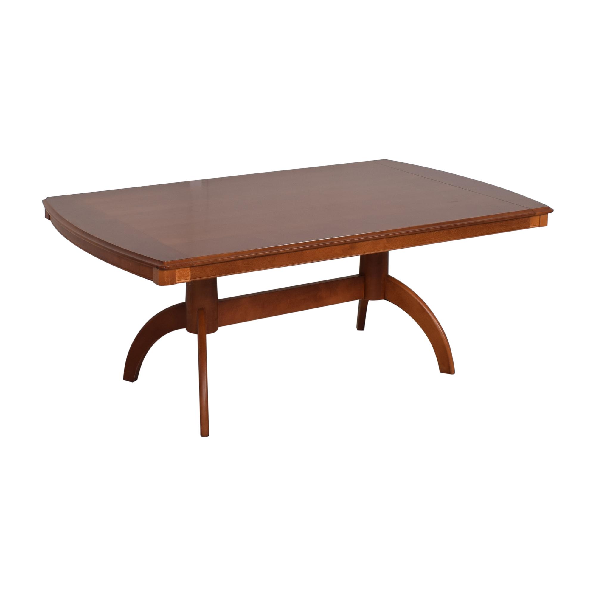Bassett Furniture Bassett Extendable Dining Table on sale