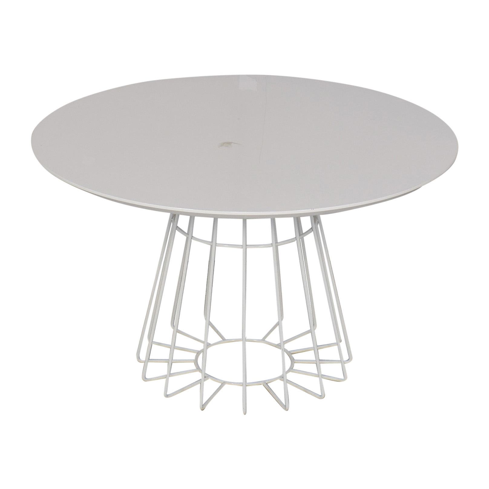 shop CB2 Compass Dining Table CB2 Accent Tables