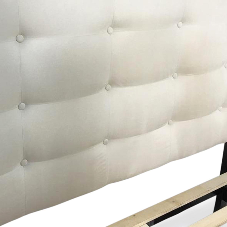 sleepys athena queen bed frame with storage beds - Sleepys Bed Frame