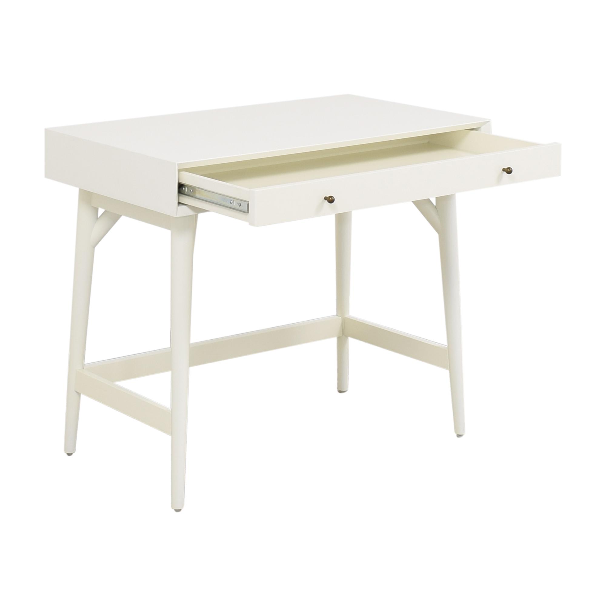 buy West Elm Mid Century Mini Desk West Elm