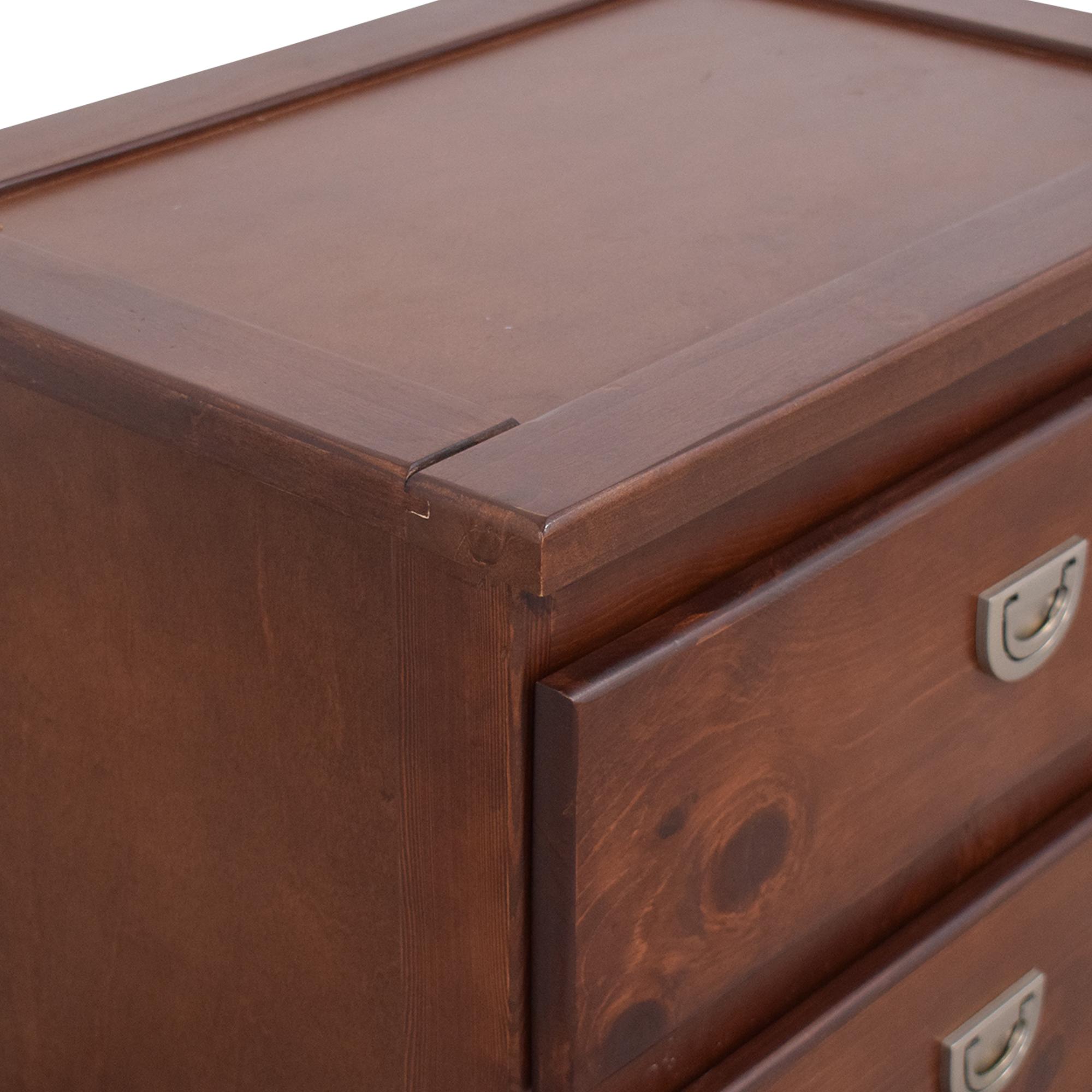 shop Oak Furniture West Tommi II Nightstand Raymour & Flanigan Tables