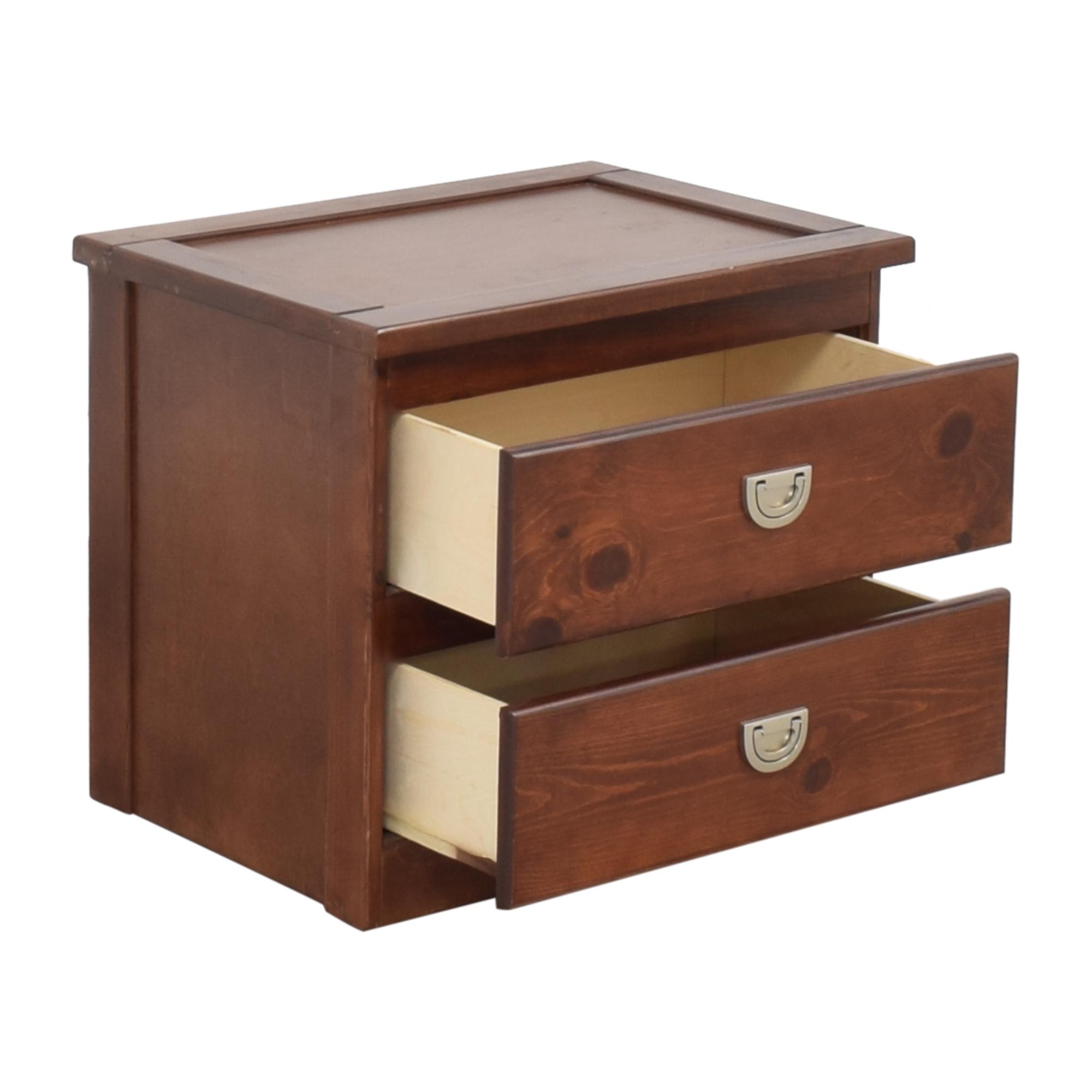 Raymour & Flanigan Oak Furniture West Tommi II Nightstand on sale