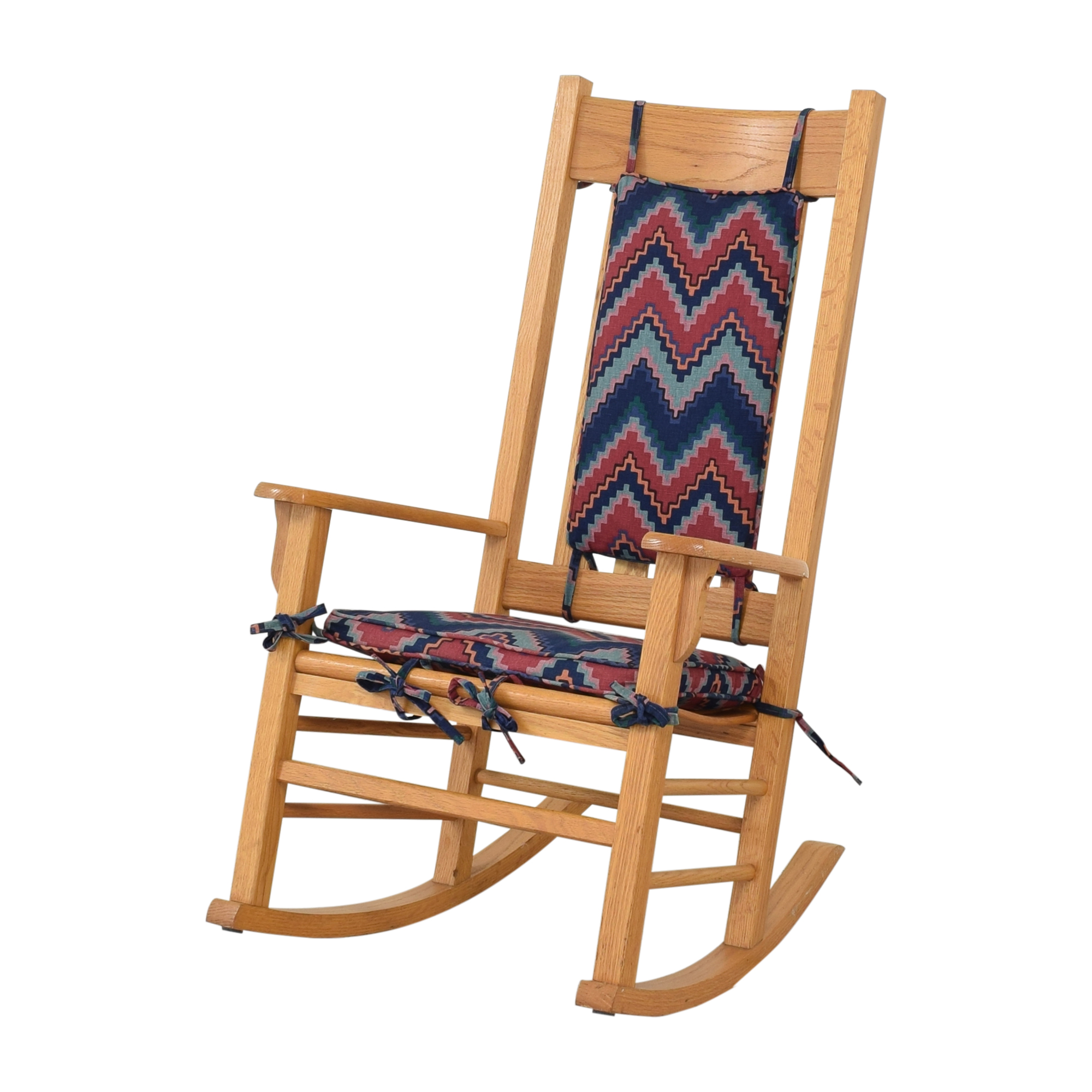 buy Rocking Chair with Fabric Cushions