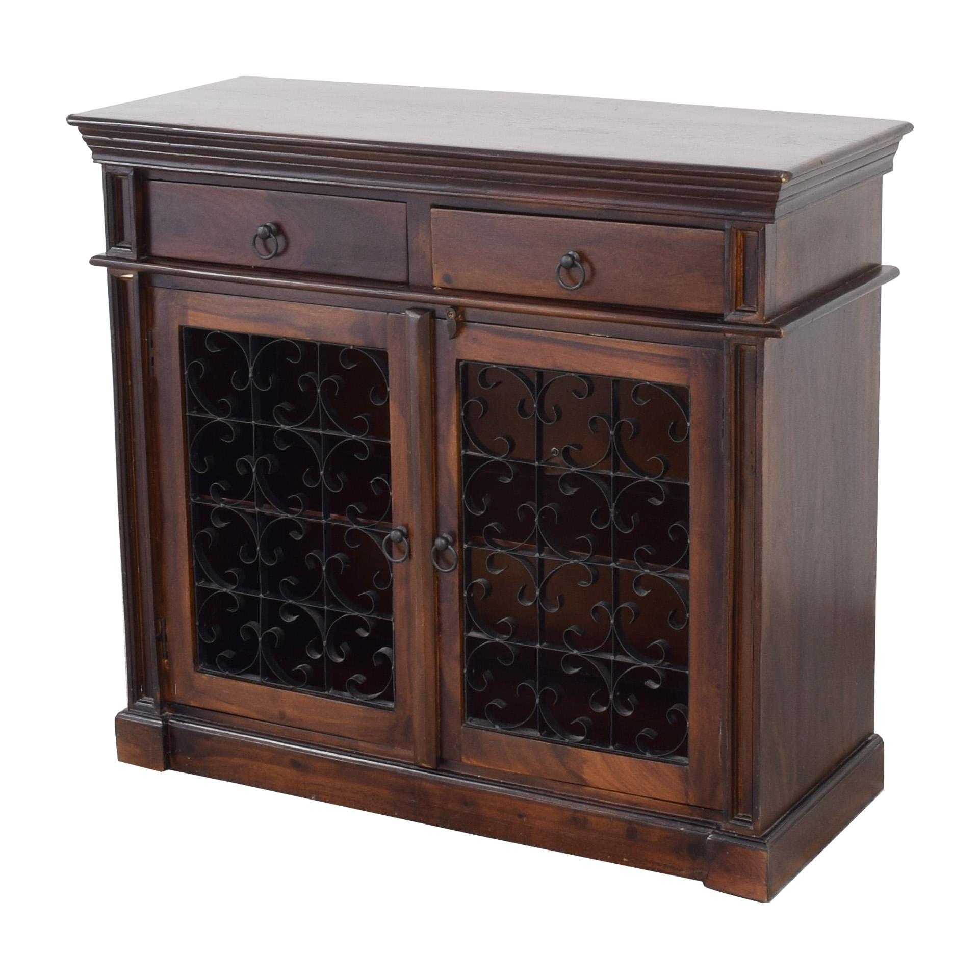 Pier 1 Pier 1 Bar Cabinet Storage