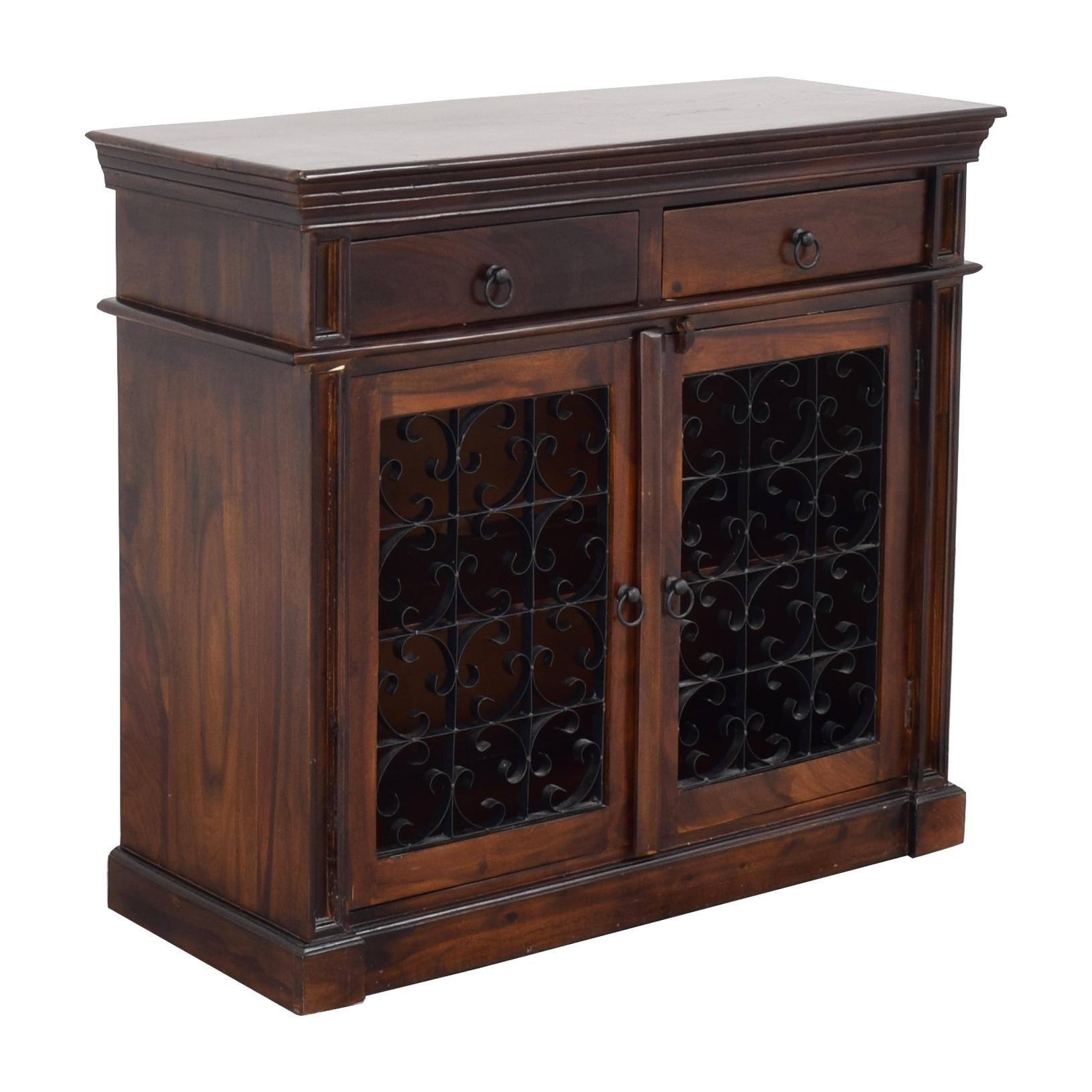 Pier 1 Bar Cabinet sale
