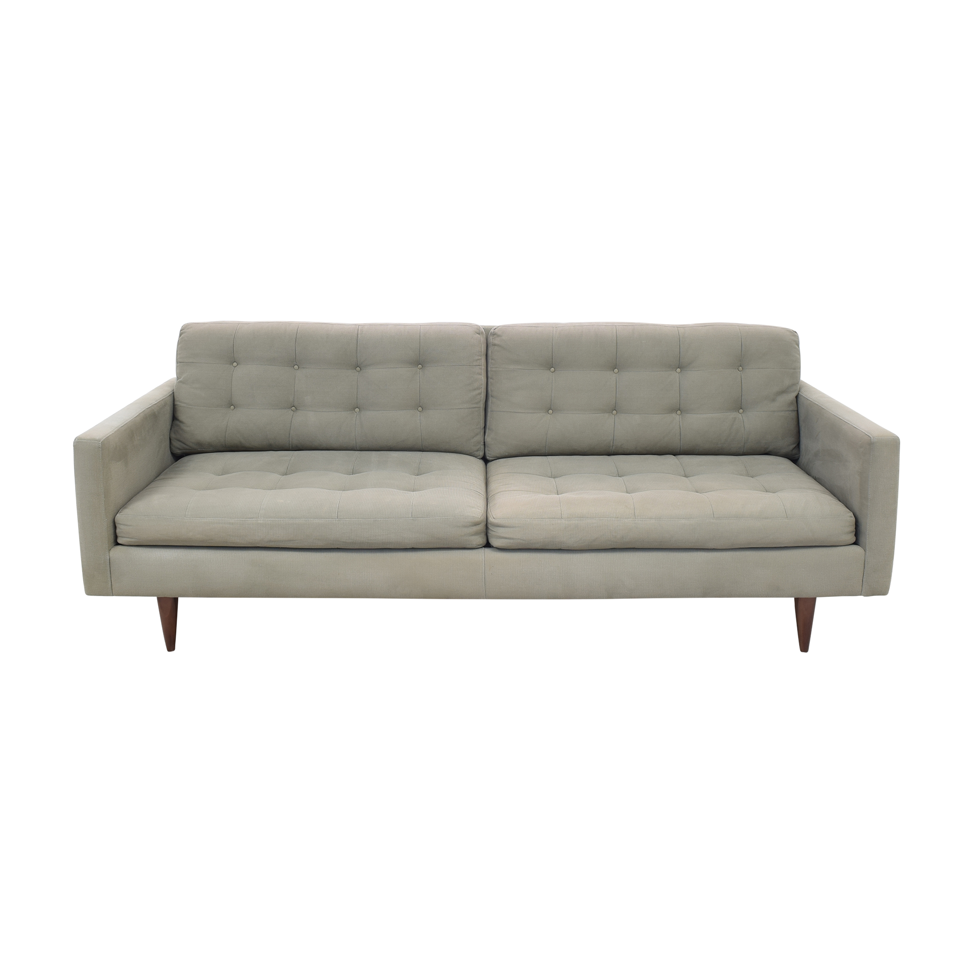buy Crate & Barrel Crate & Barrel Petrie Mid Century Sofa online