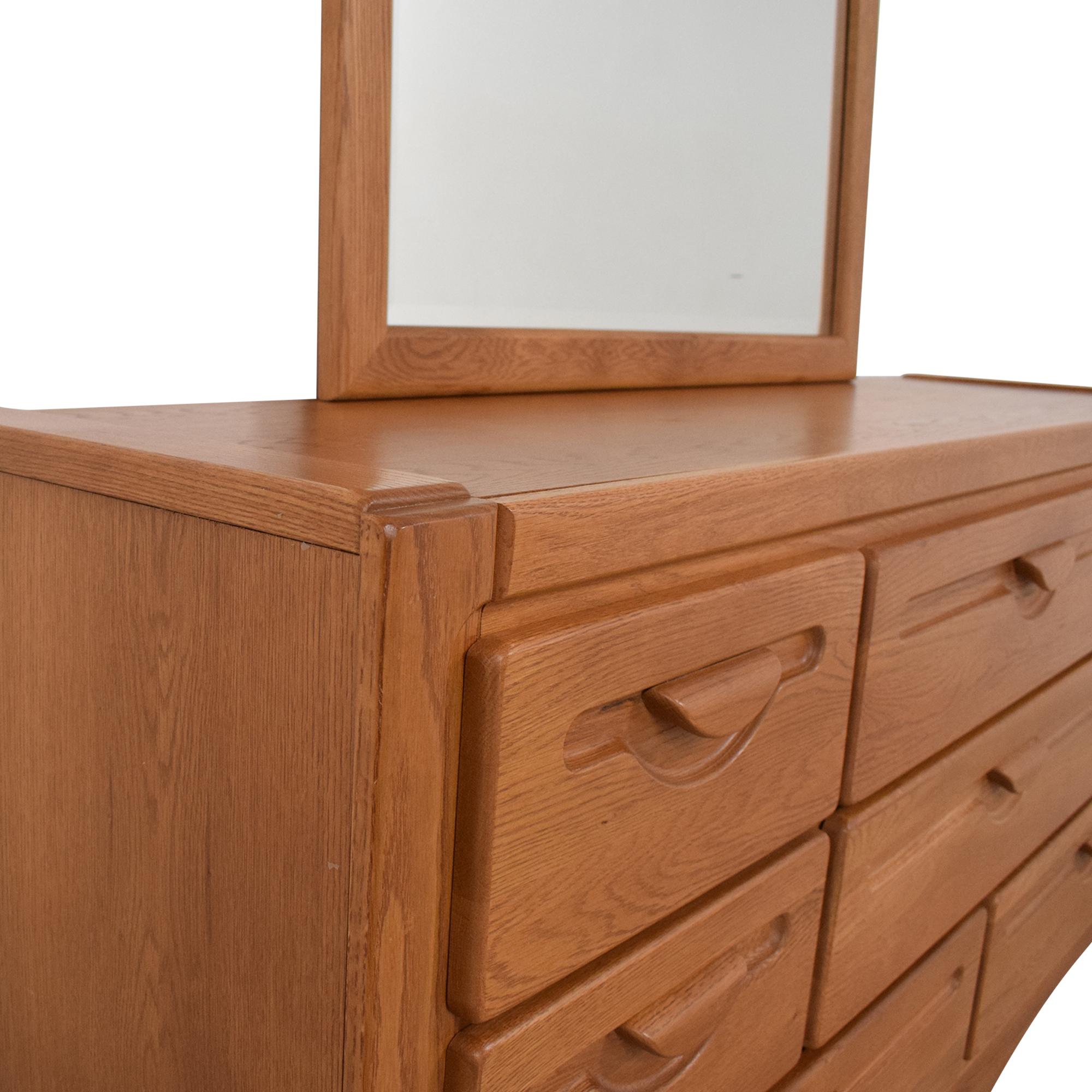 Webb Furniture Webb Furniture Dresser with Mirror ma