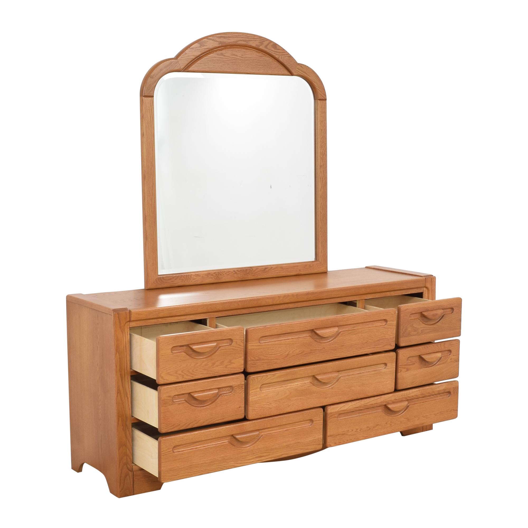 shop Webb Furniture Webb Furniture Dresser with Mirror online