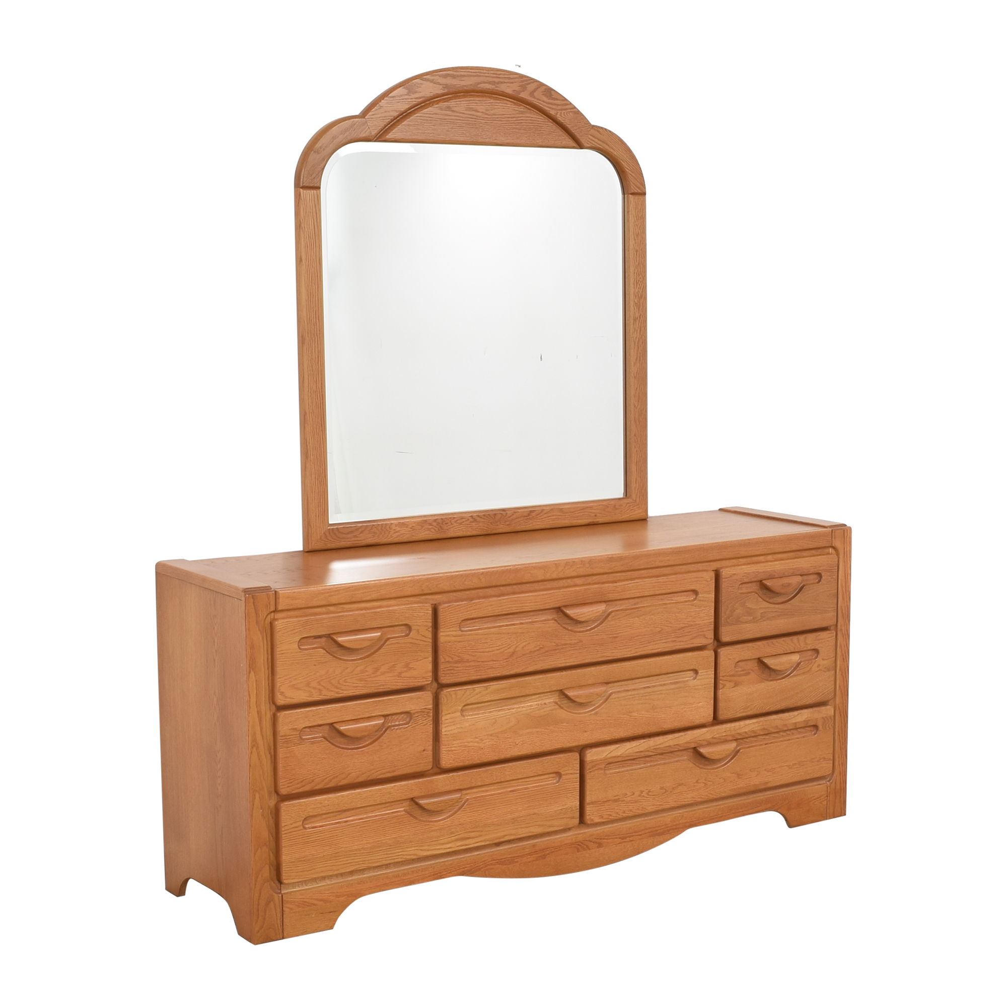 Webb Furniture Webb Furniture Dresser with Mirror