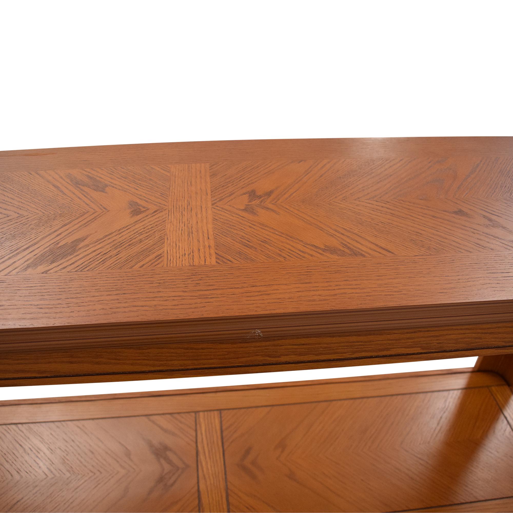 shop Oak Sofa Table  Coffee Tables