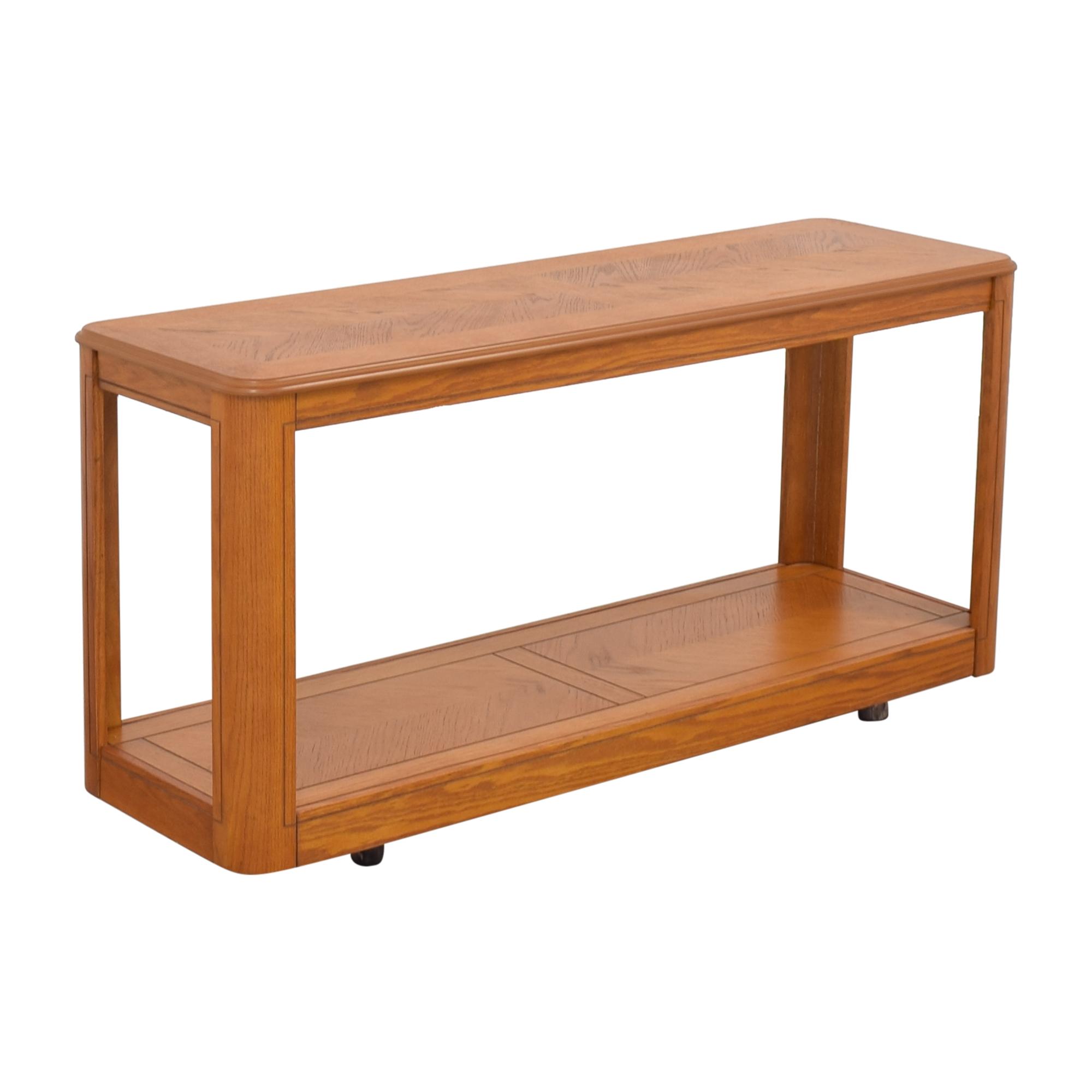 shop Oak Sofa Table