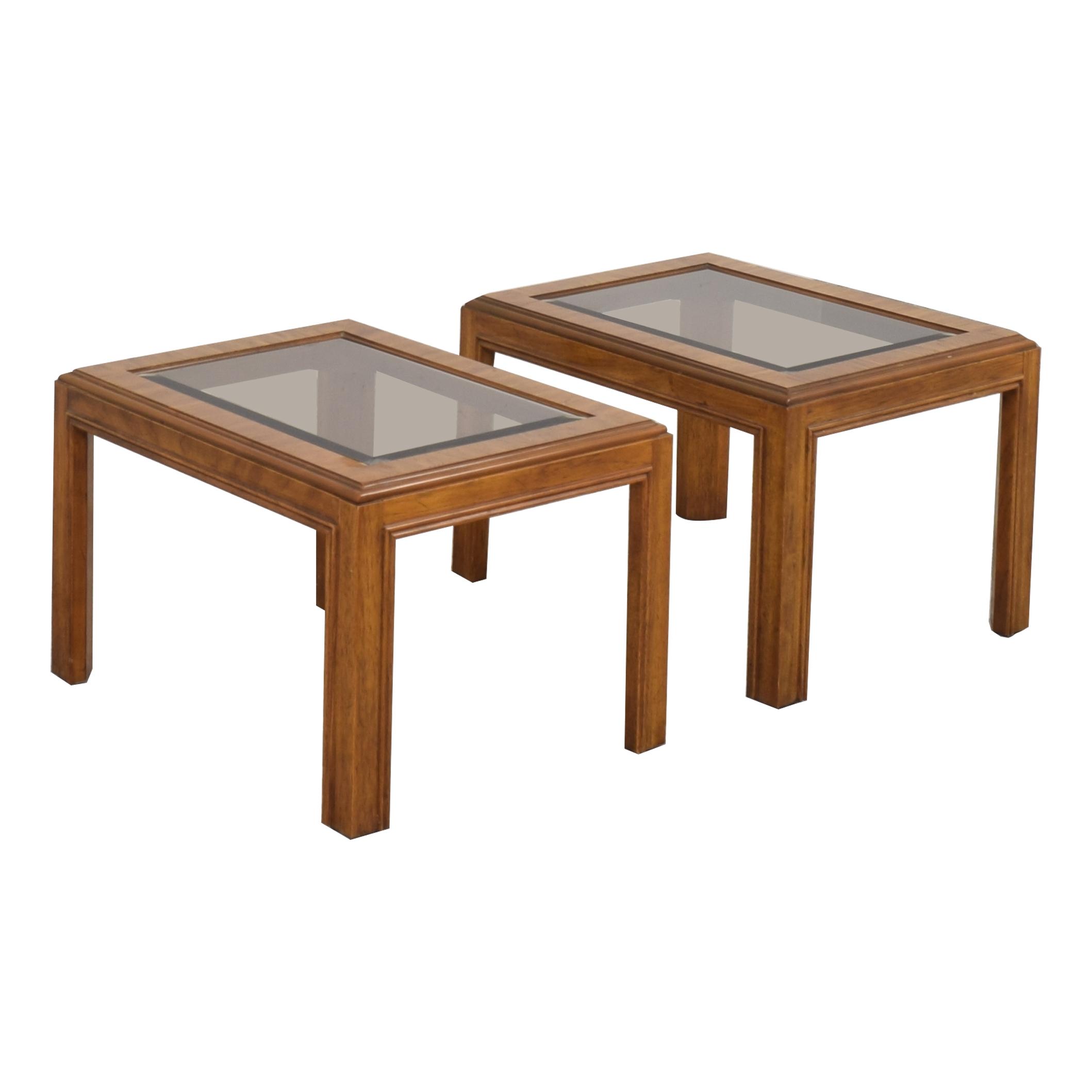 Drexel Heritage Drexel Heritage Mid-Century End Tables on sale