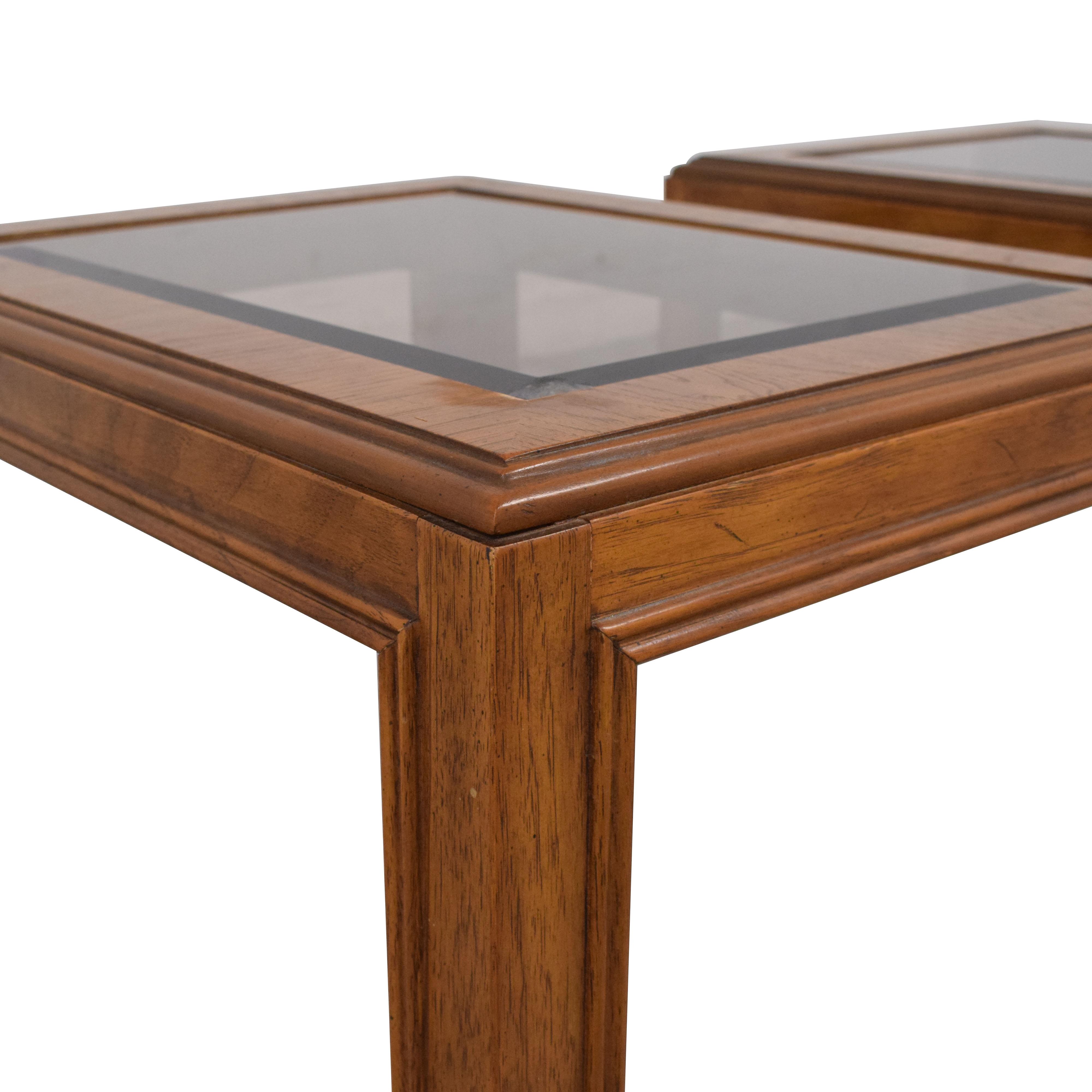 Drexel Heritage Drexel Heritage Mid-Century End Tables