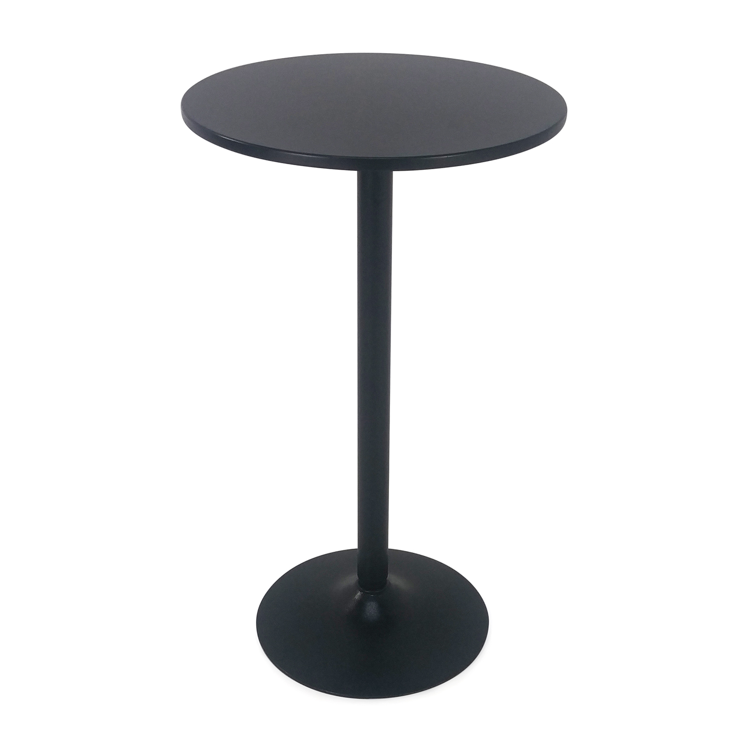 Winsome Black Pub Circle Table second hand