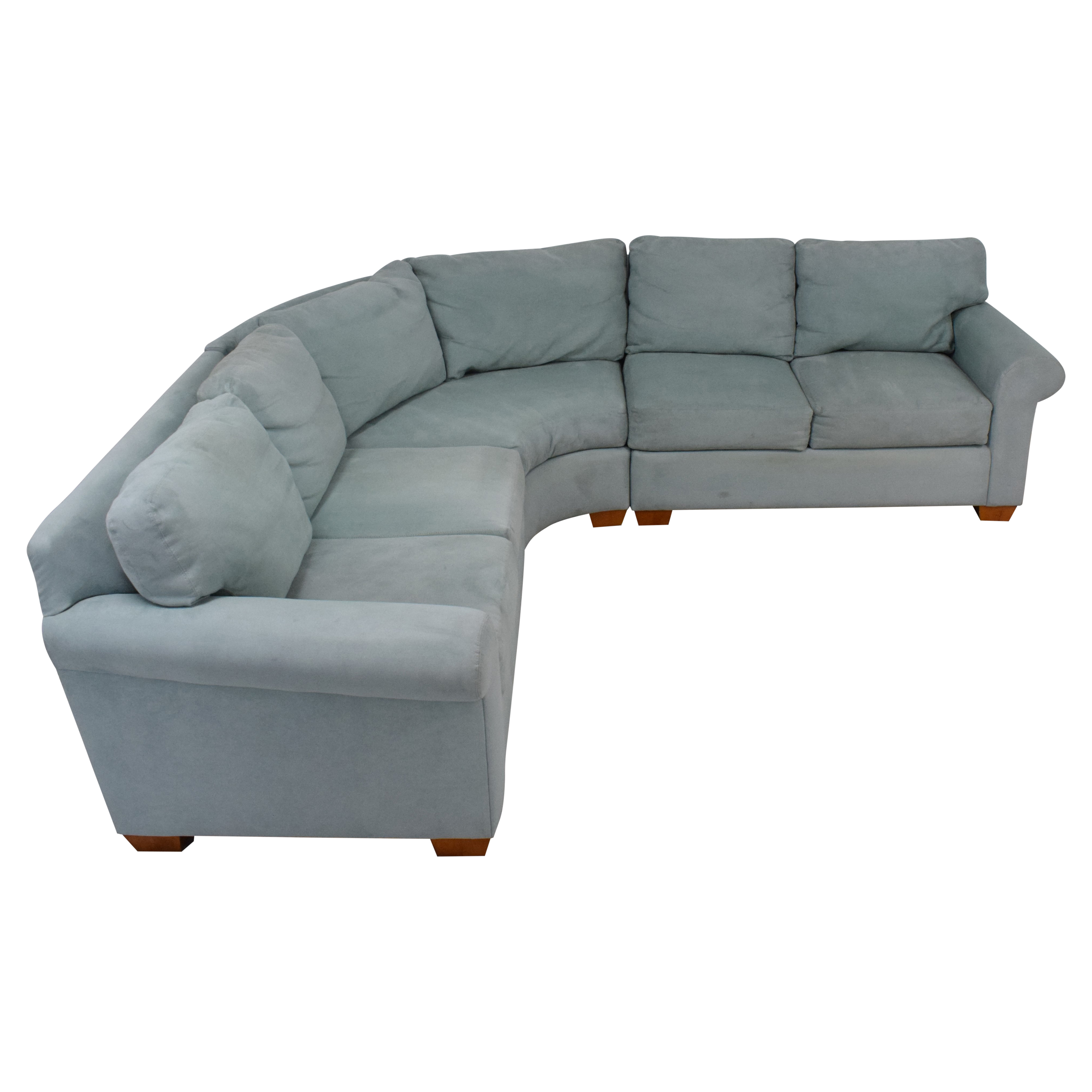 Youngs Furniture Youngs Three Piece Corner Sectional ct