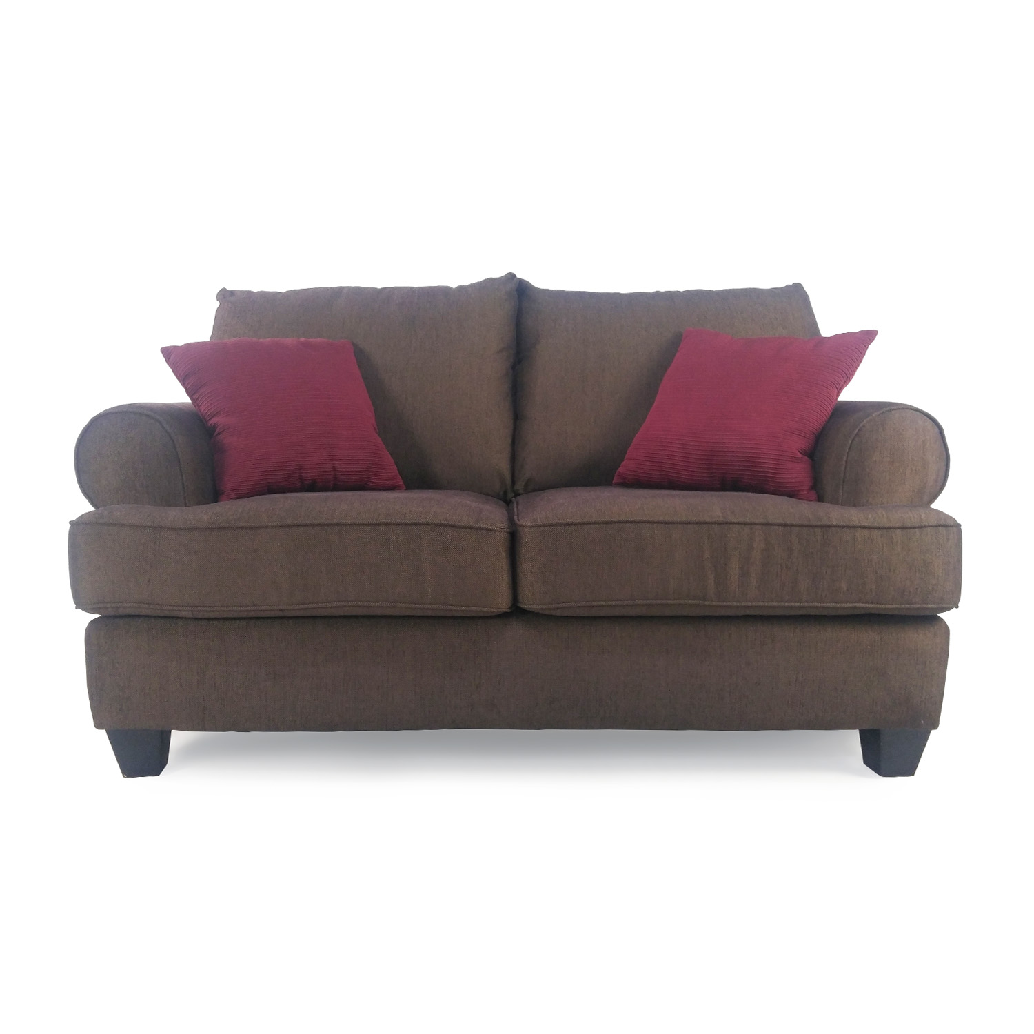 62 Off Modern Leather 2 Seater Couch Sofas