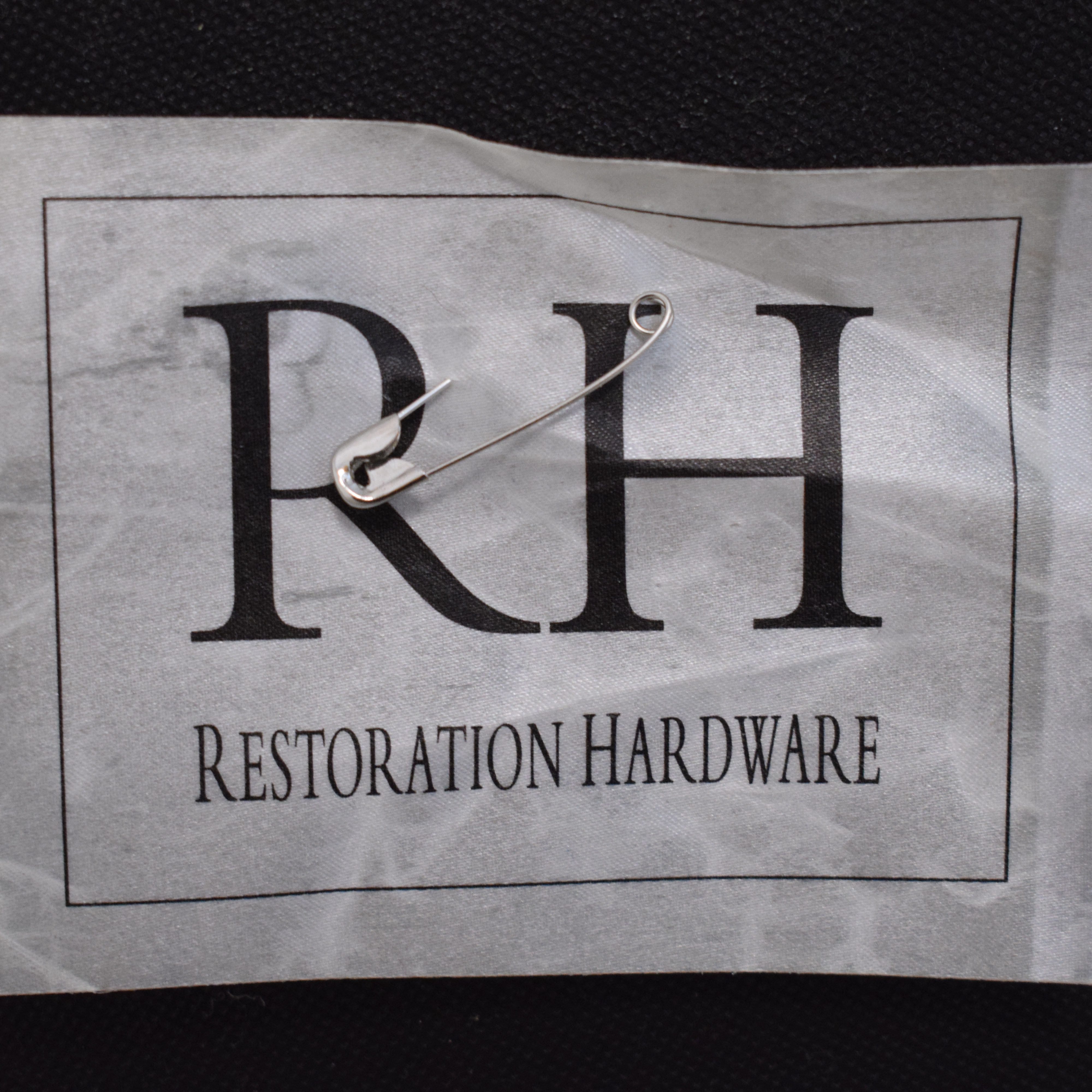 Restoration Hardware Restoration Hardware Belgian Linen Track Arm Slipcovered Chair dimensions