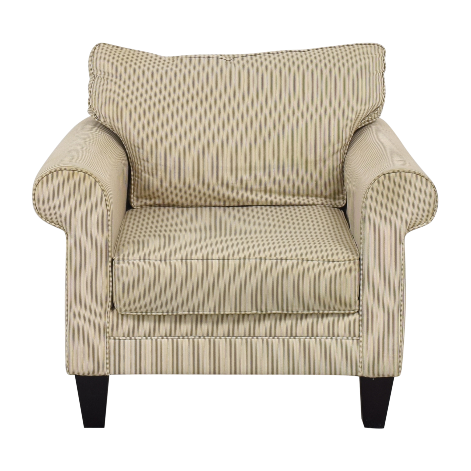 Raymour & Flanigan Raymour & Flanigan Roll Arm Chair Accent Chairs