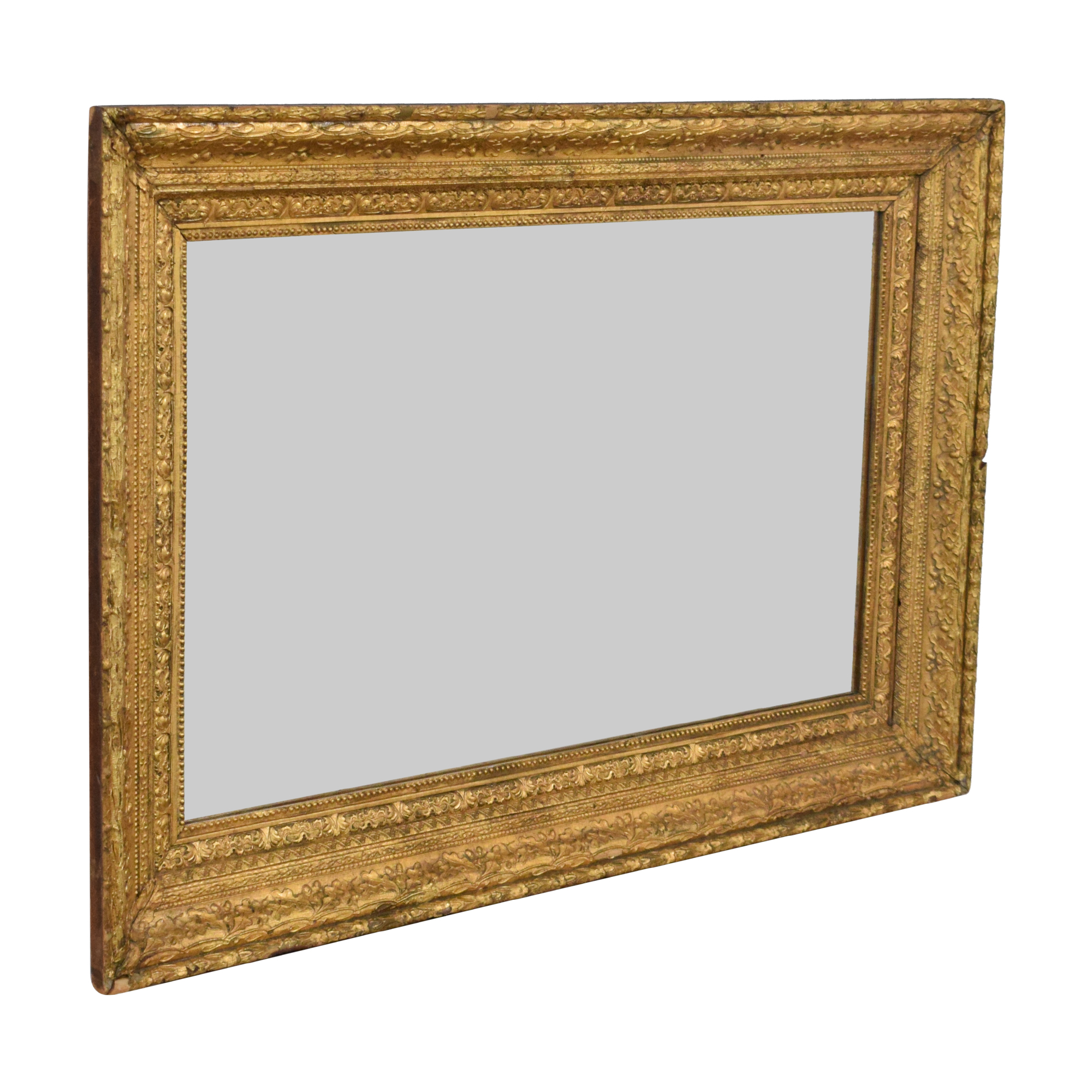 Antique Framed Decorative Wall Mirror pa
