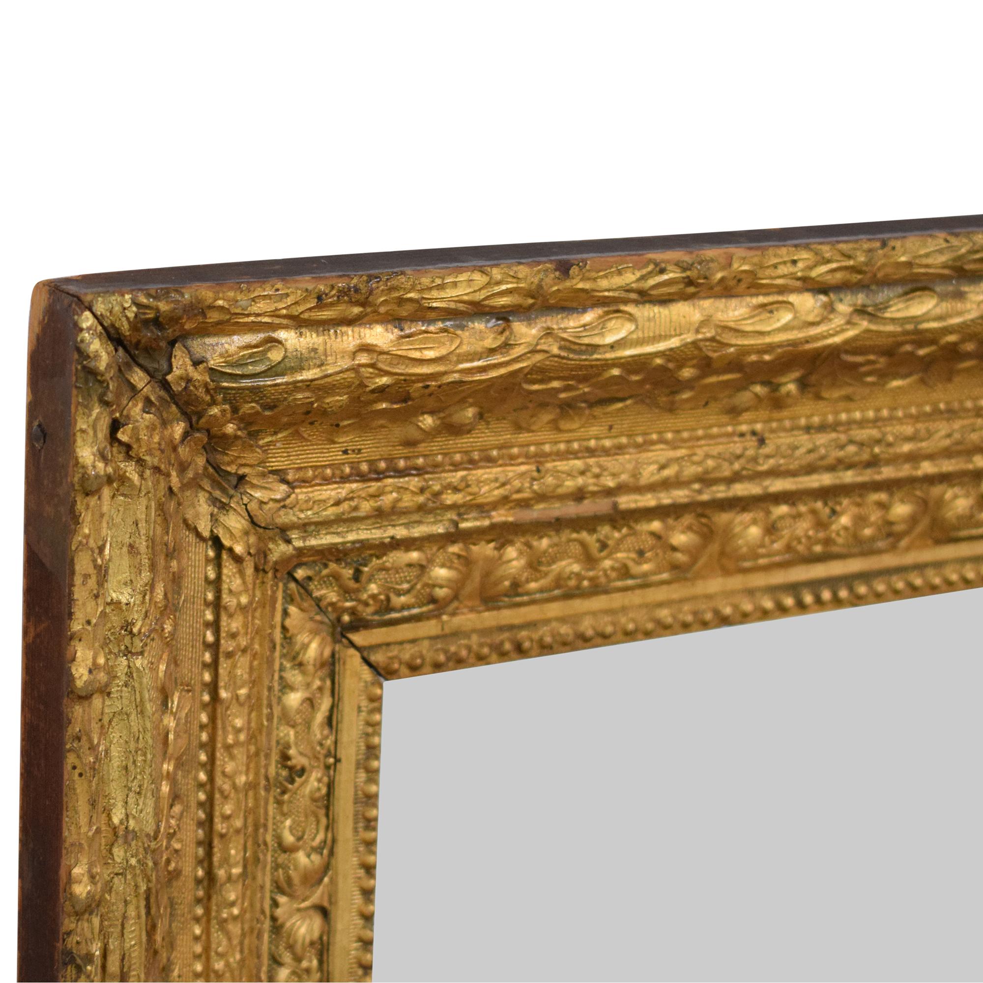 Antique Framed Decorative Wall Mirror