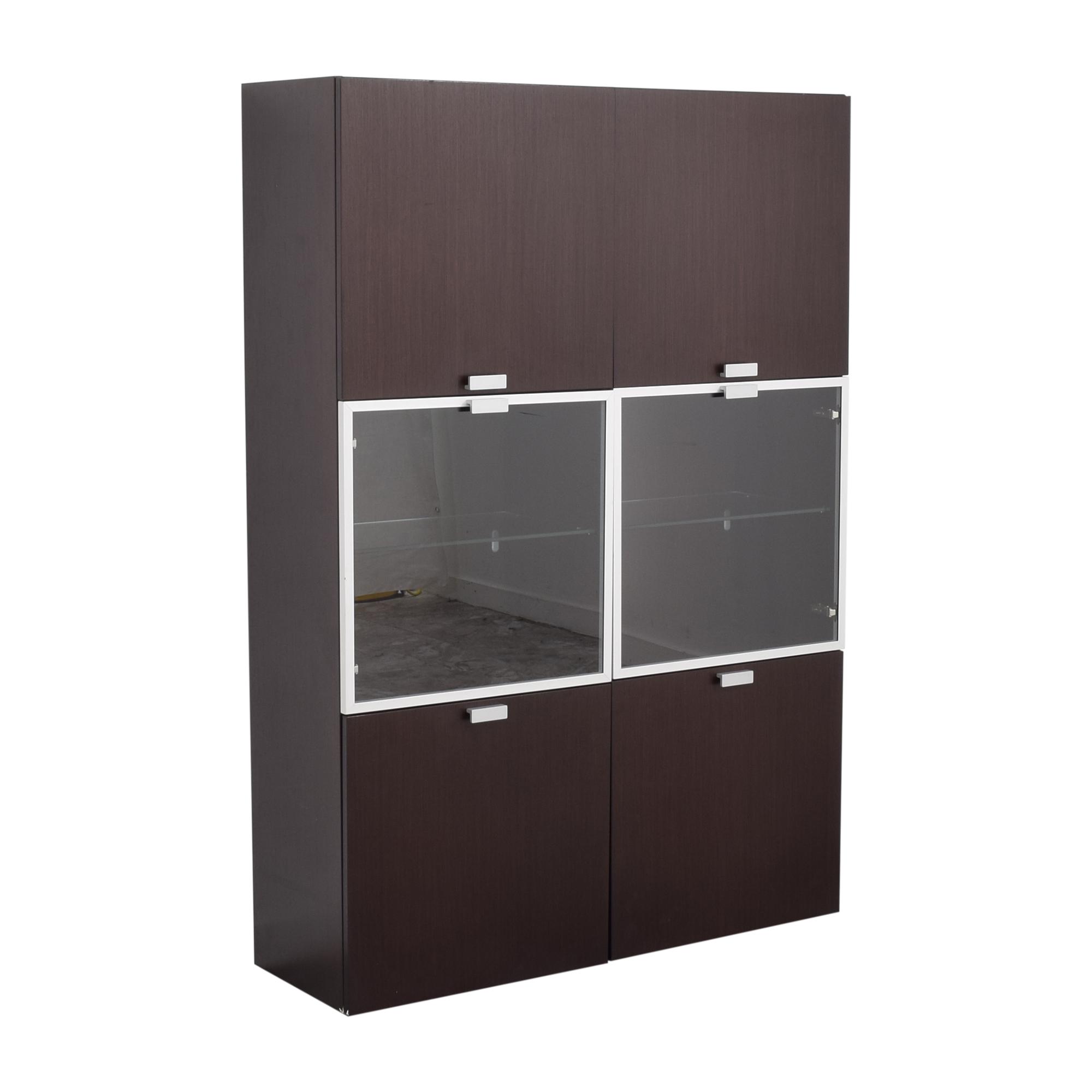 shop Jensen-Lewis Jensen-Lewis Upright Double Cabinet online