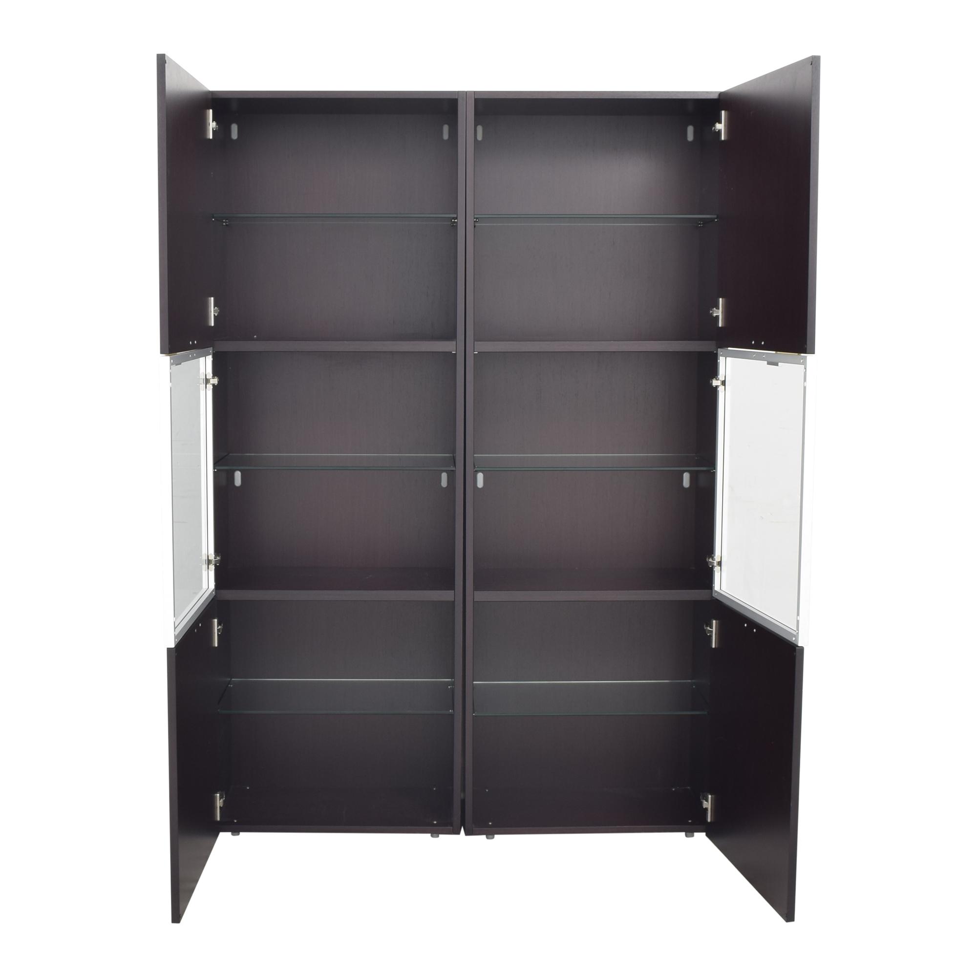 Jensen-Lewis Jensen-Lewis Upright Double Cabinet