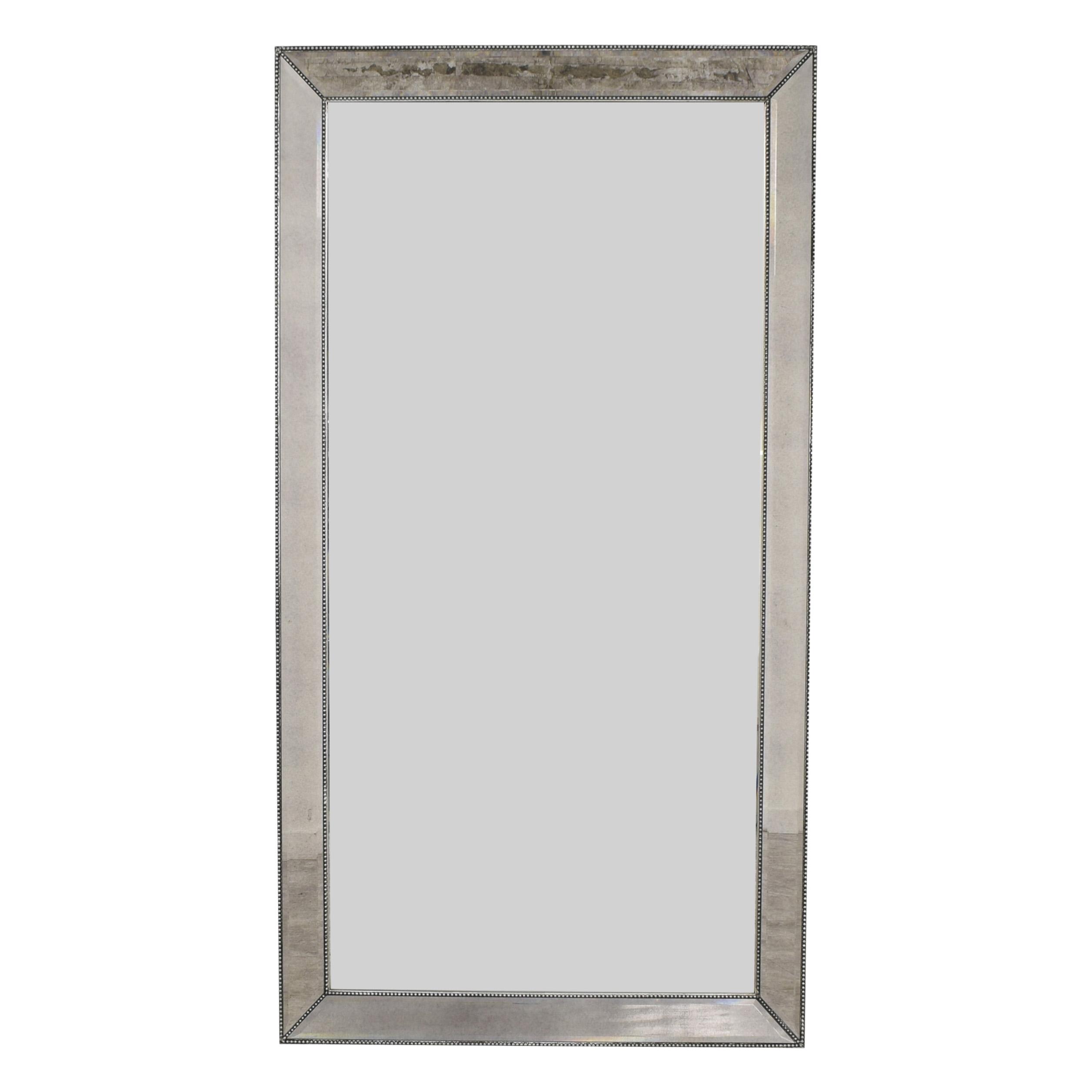 Macy's Macy's Marais Mirrored Floor Mirror silver