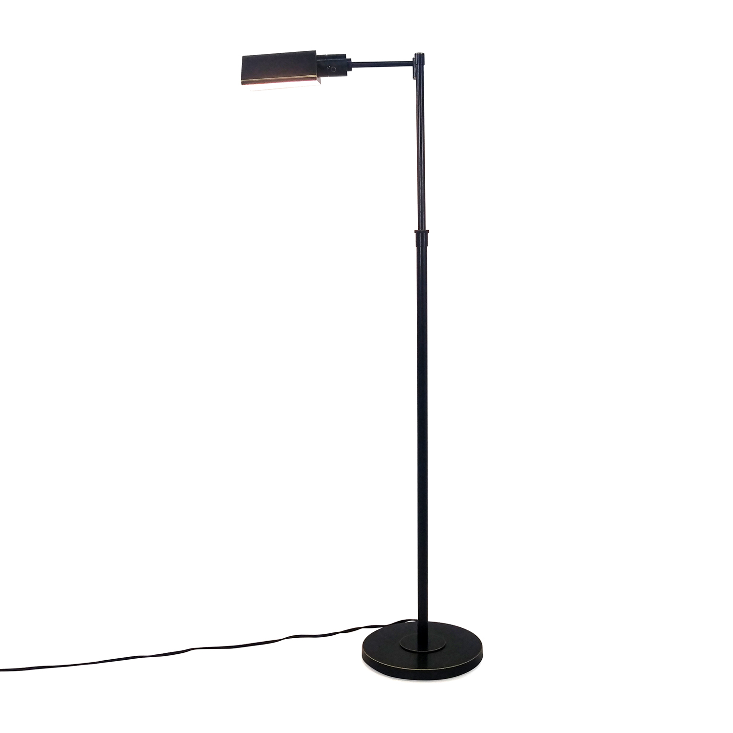 Adjustable Floor Lamp in Copper Finish on sale