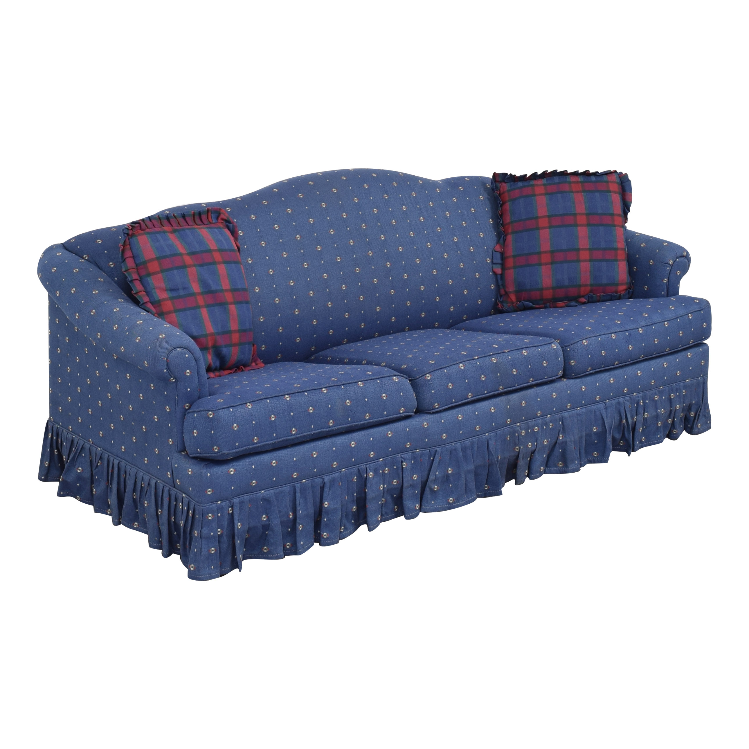 buy Hickory Springs Camelback Queen Sleeper Sofa Hickory Springs
