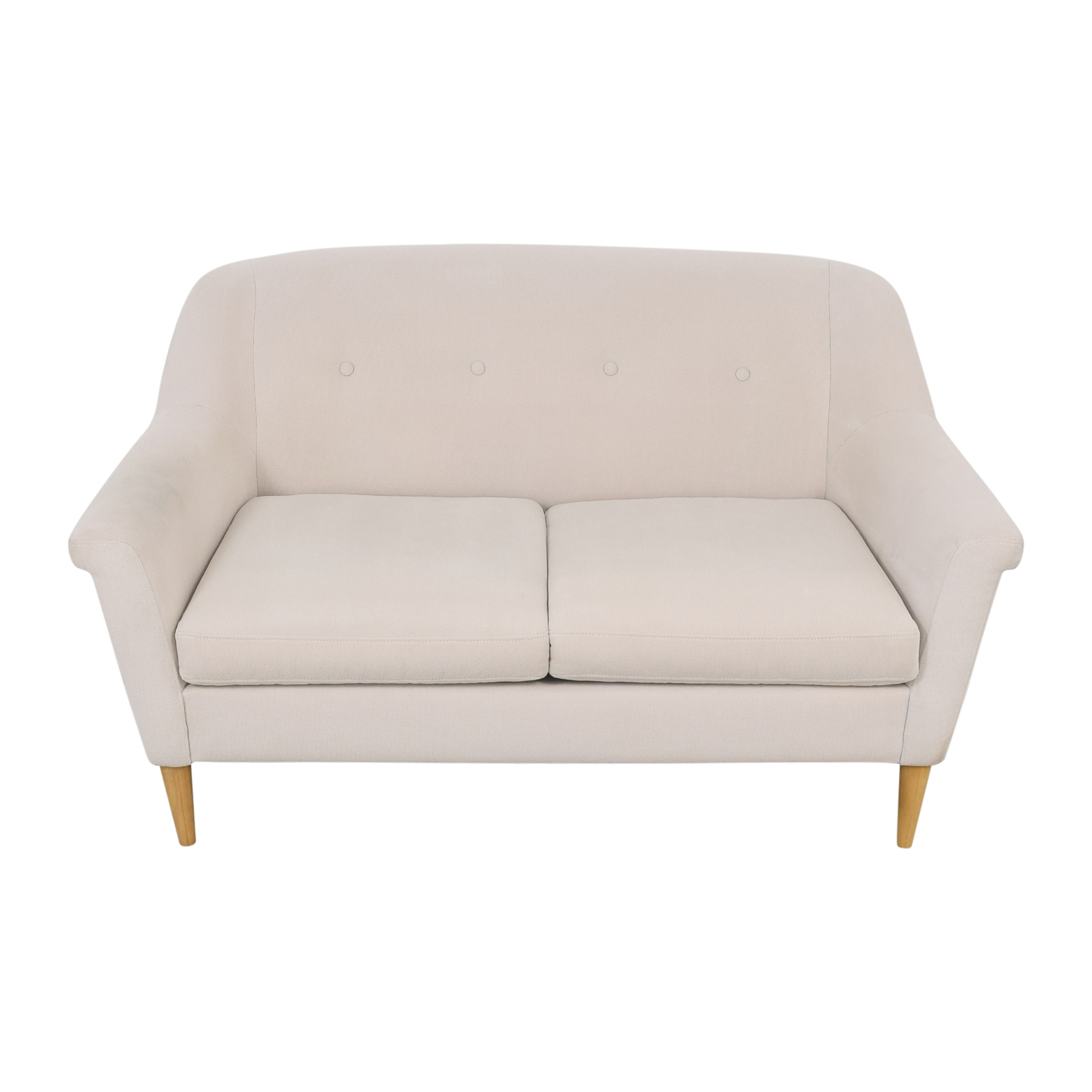 shop West Elm Finn Loveseat West Elm Sofas