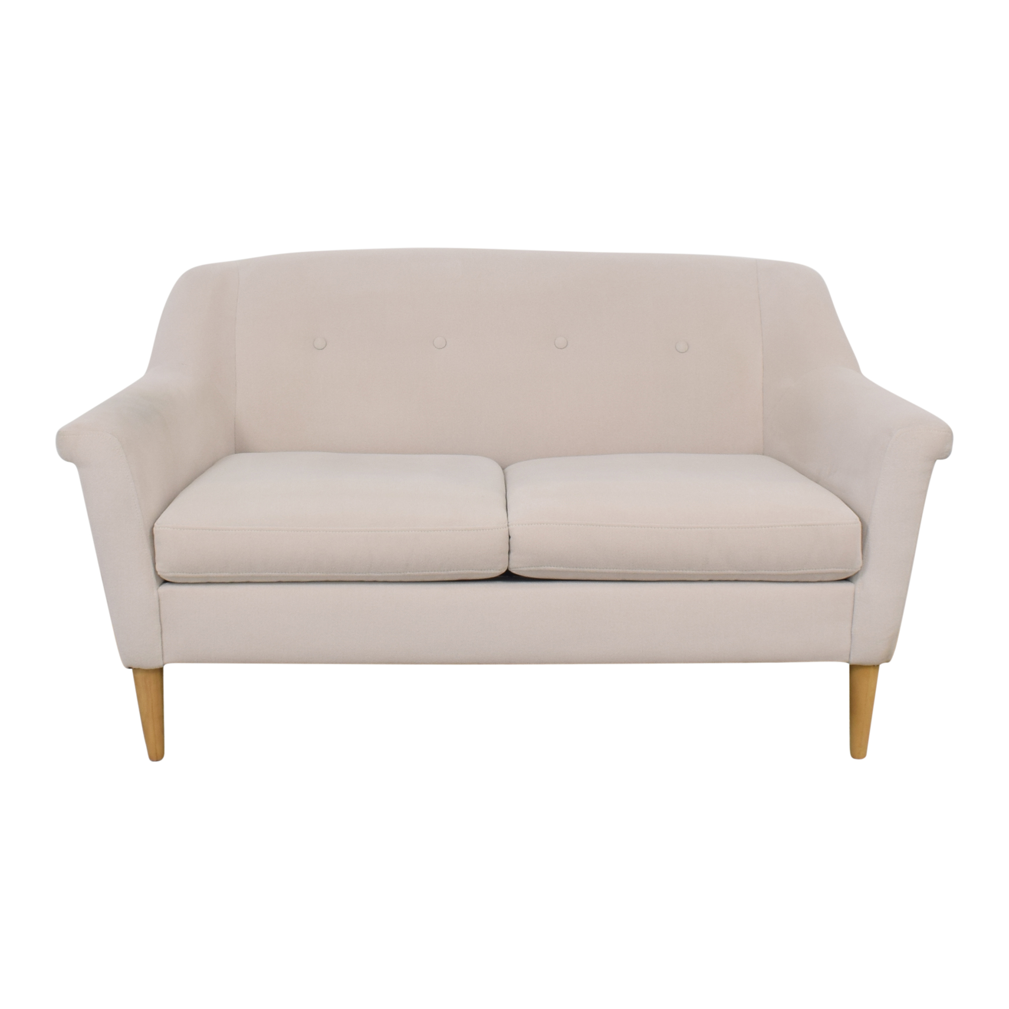 buy West Elm Finn Loveseat West Elm Sofas