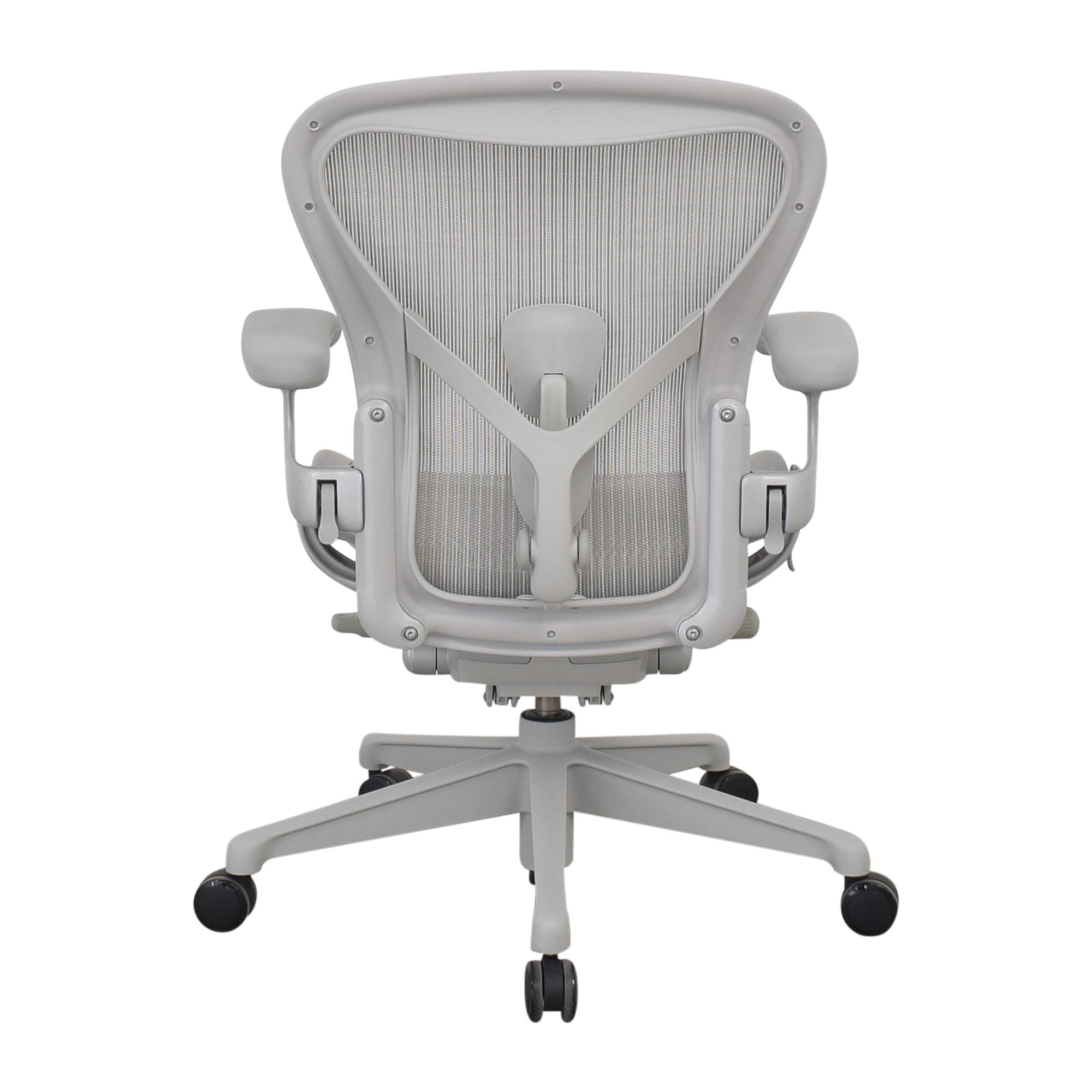 Herman Miller Herman Miller Size B Aeron Chair dimensions