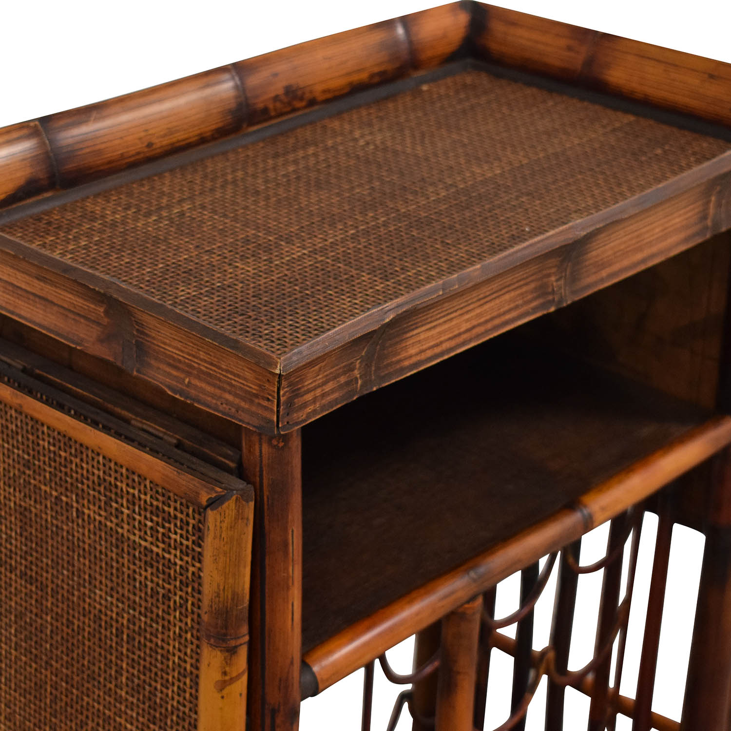 Interlude Home Wine Storage Serving Table Interlude Home