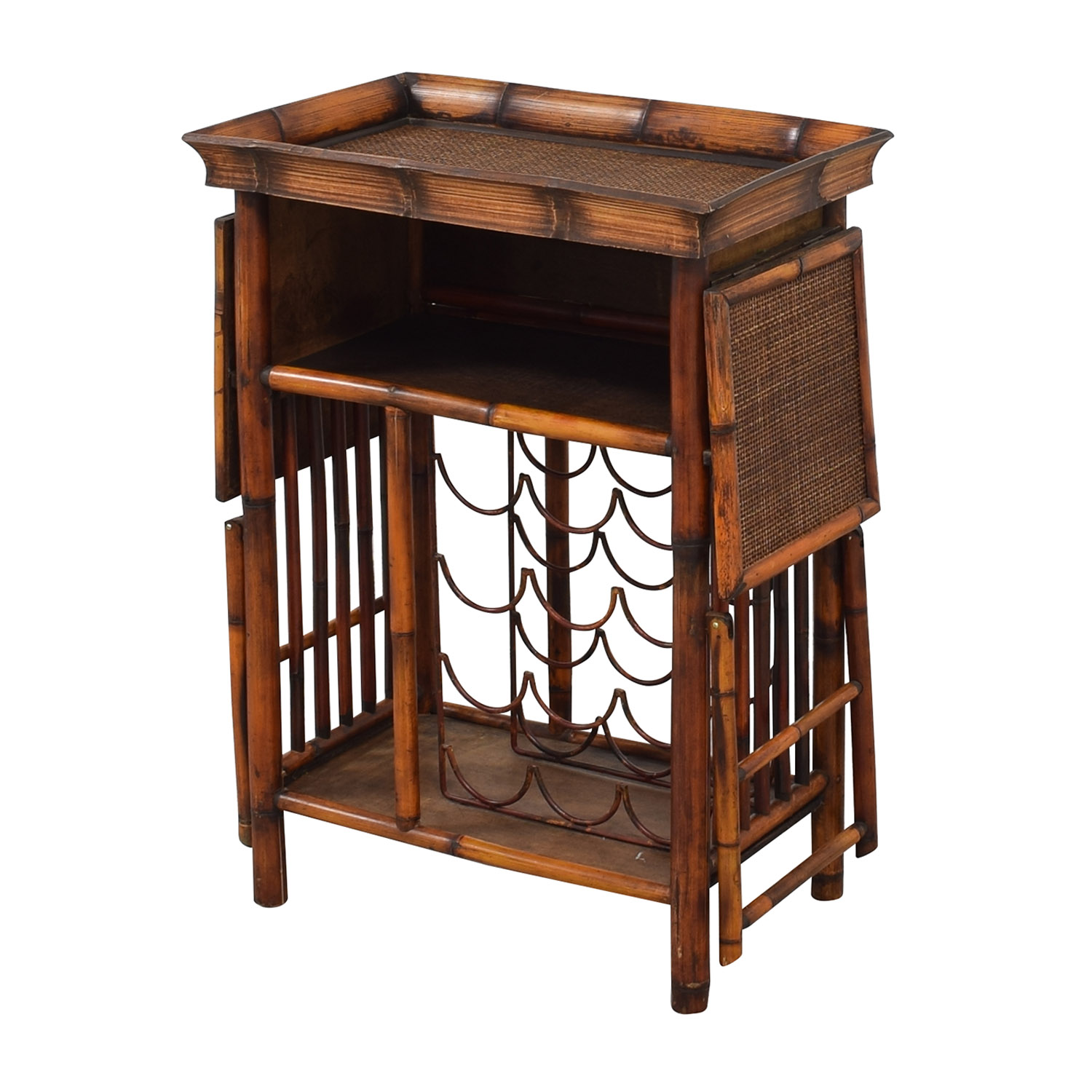 buy Interlude Home Wine Storage Serving Table Interlude Home Utility Tables