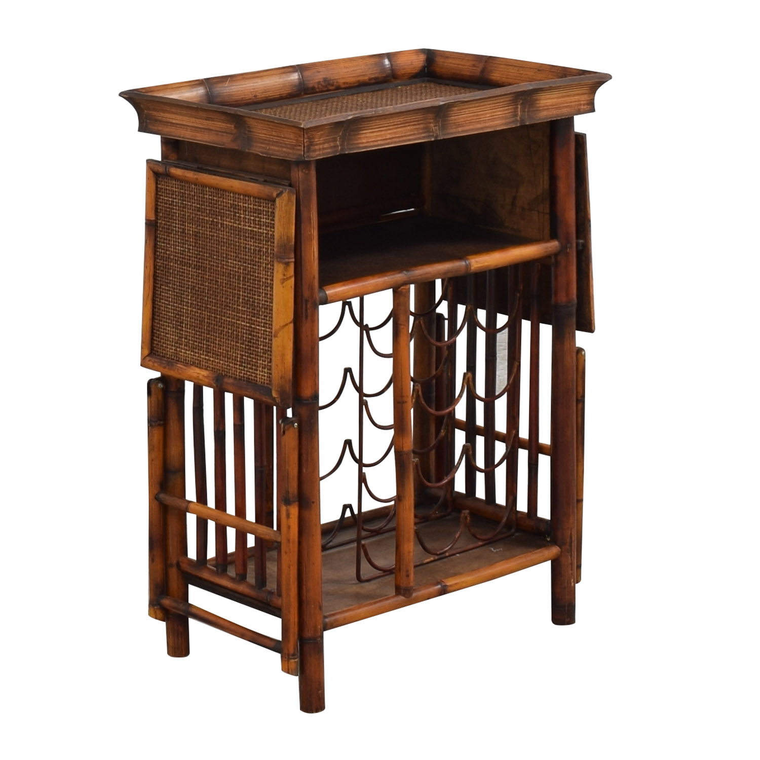 Interlude Home Interlude Home Wine Storage Serving Table for sale