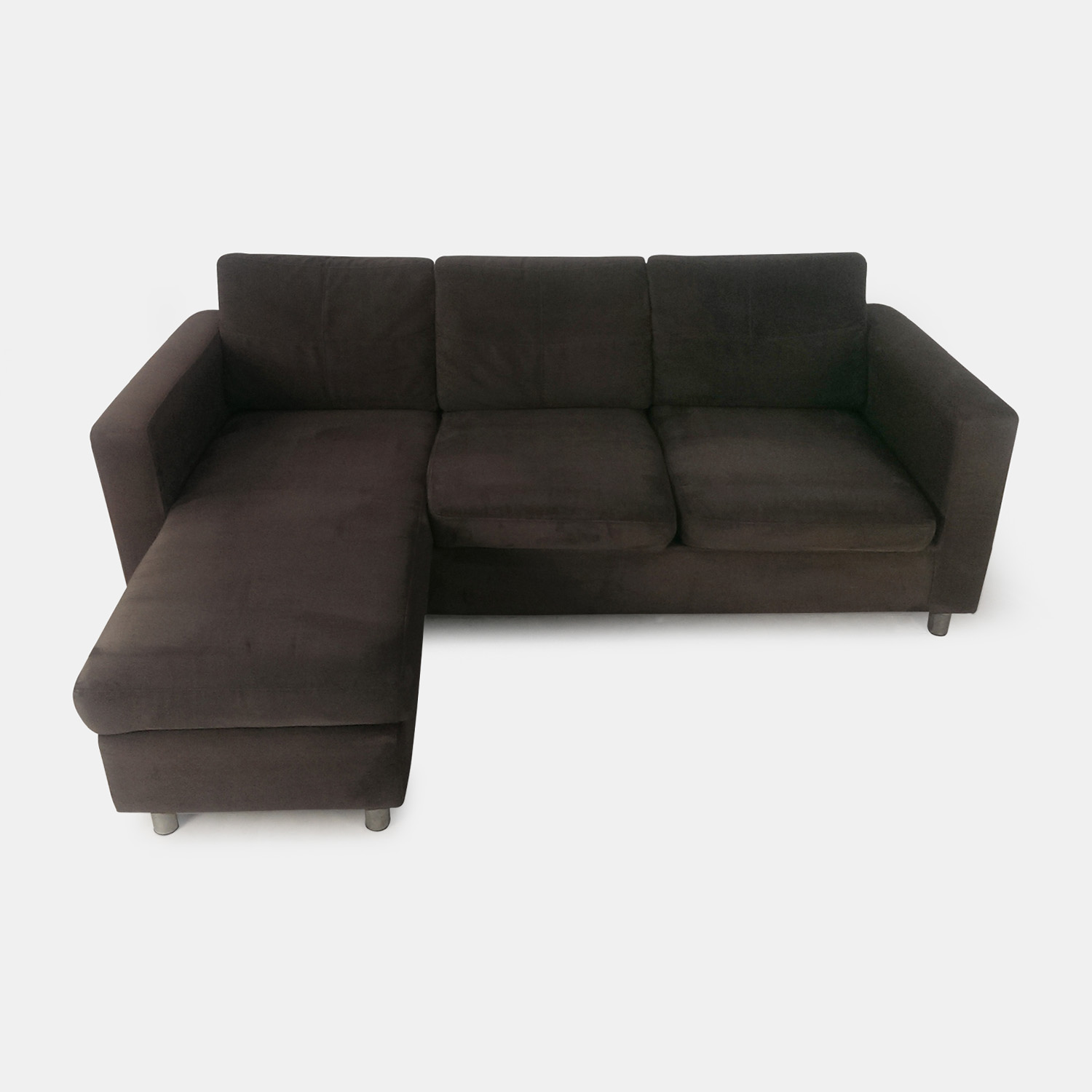 Brown suede couch brown suede couch and loveseat brown for Suede furniture