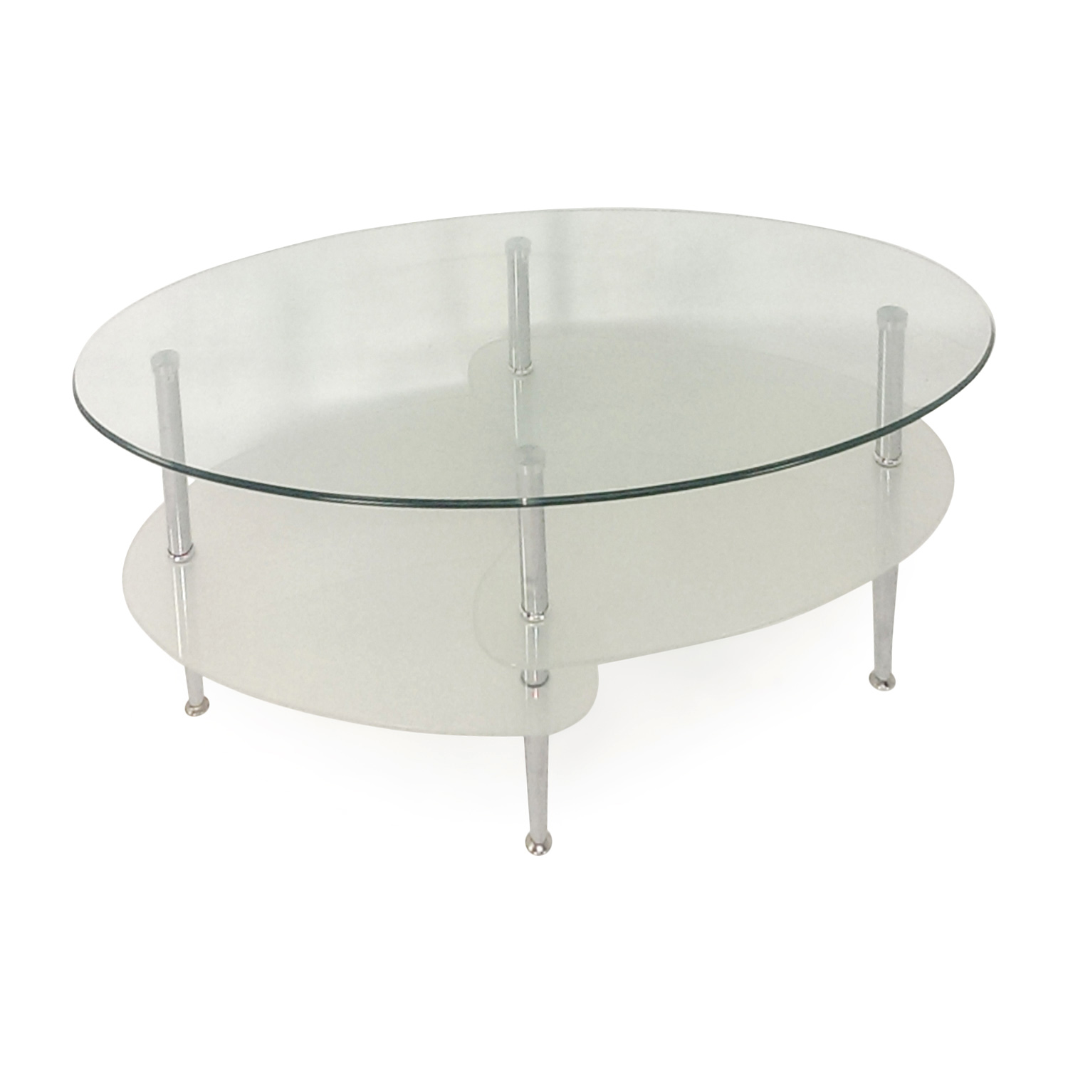 Modern Glass Coffee Table Overstock