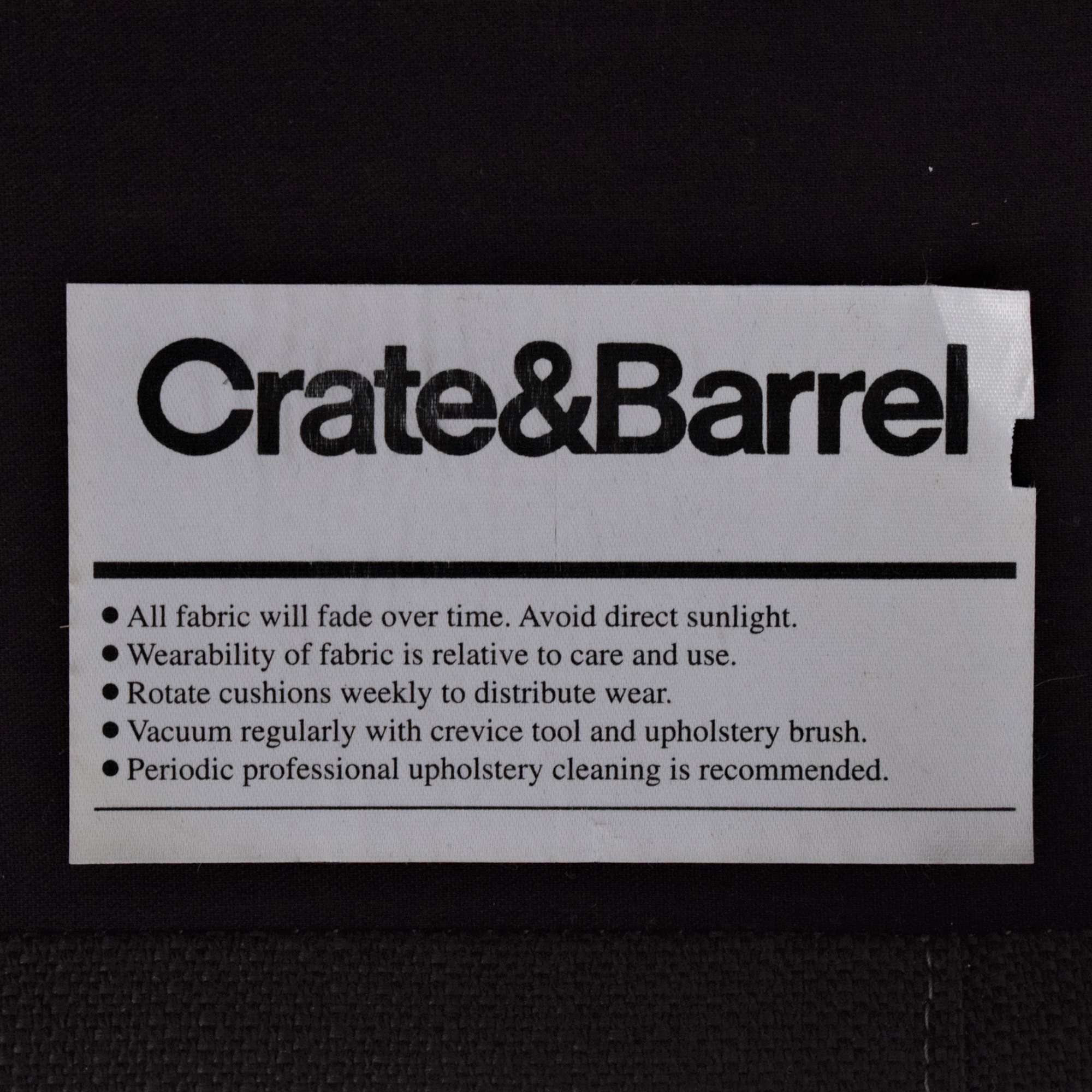 Crate & Barrel Crate & Barrel Petrie Midcentury Sofa nj