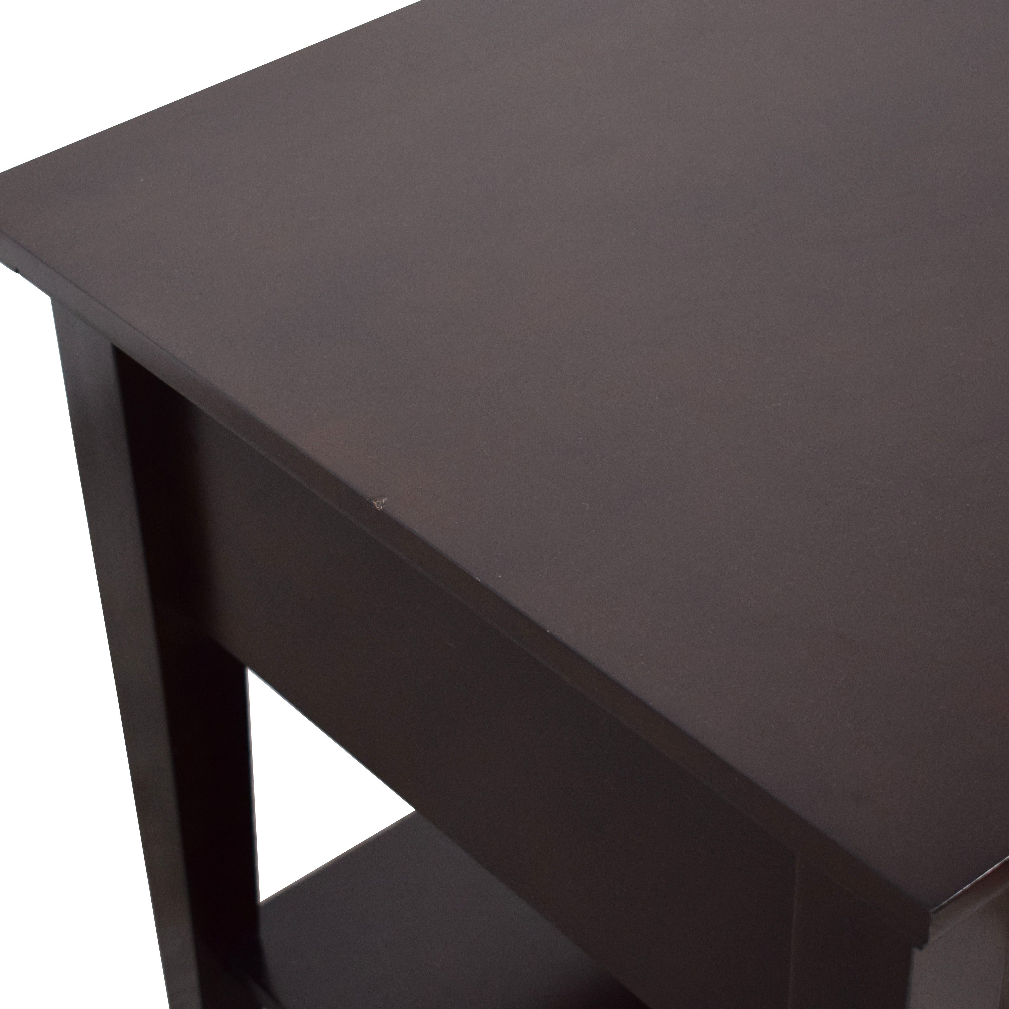 shop Coaster Fine Furniture Coaster Single Drawer Cappuccino End Tables online